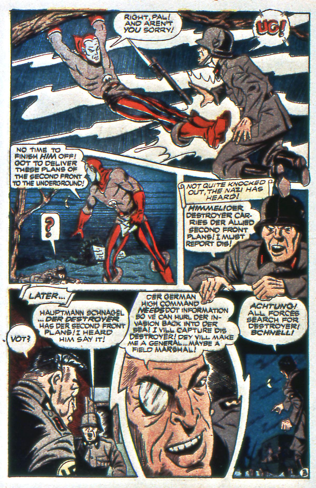Read online All-Winners Comics comic -  Issue #12 - 44