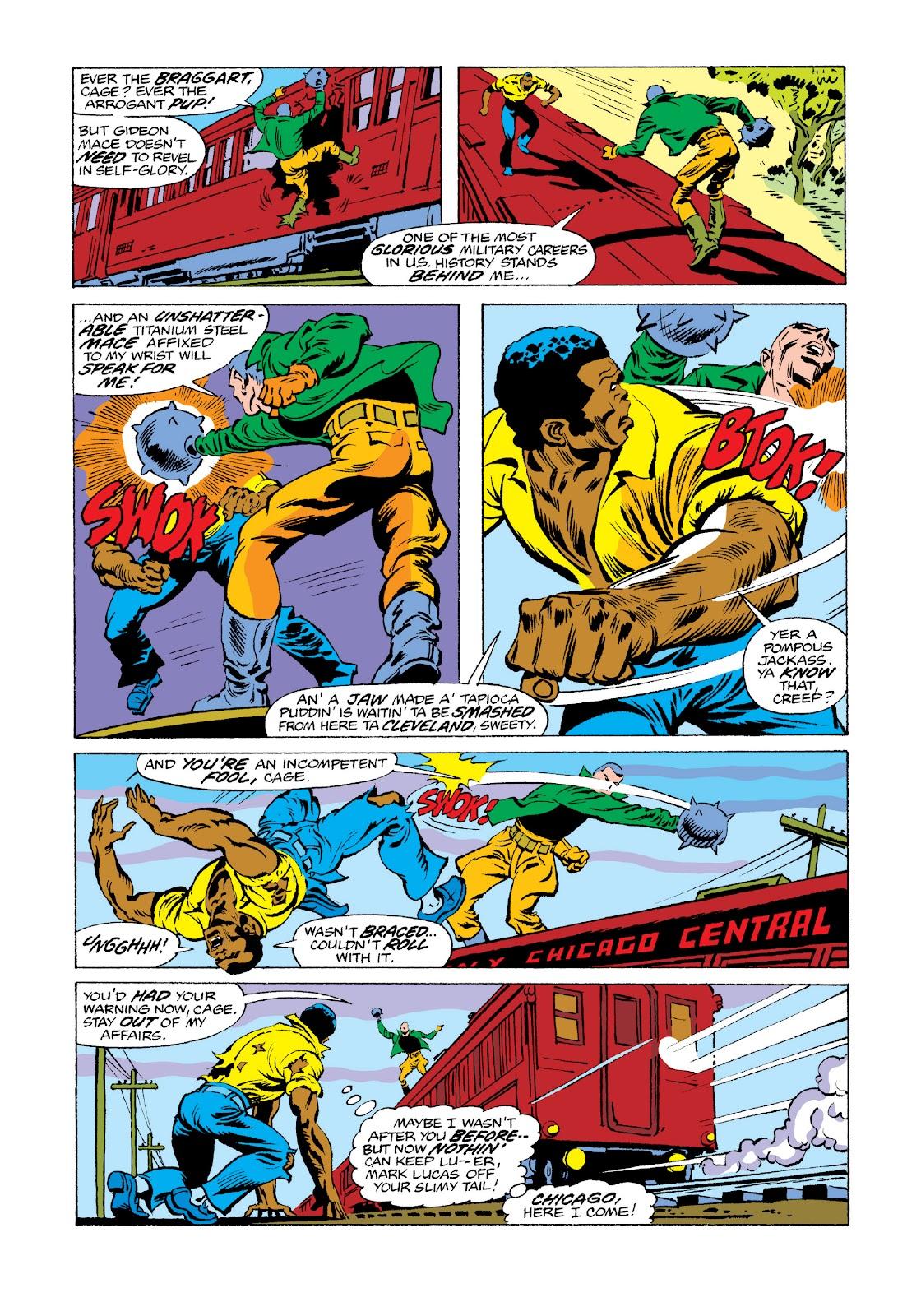 Read online Marvel Masterworks: Luke Cage, Power Man comic -  Issue # TPB 3 (Part 3) - 40