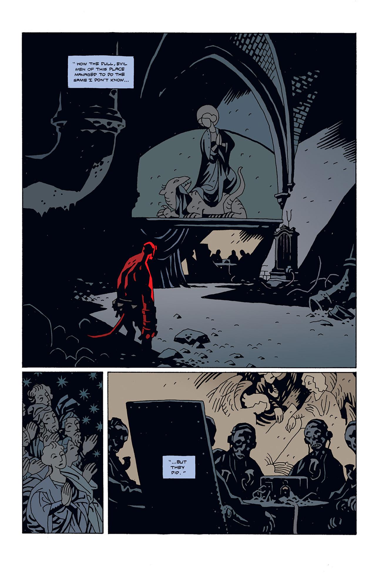 Read online Hellboy: Conqueror Worm comic -  Issue #3 - 18