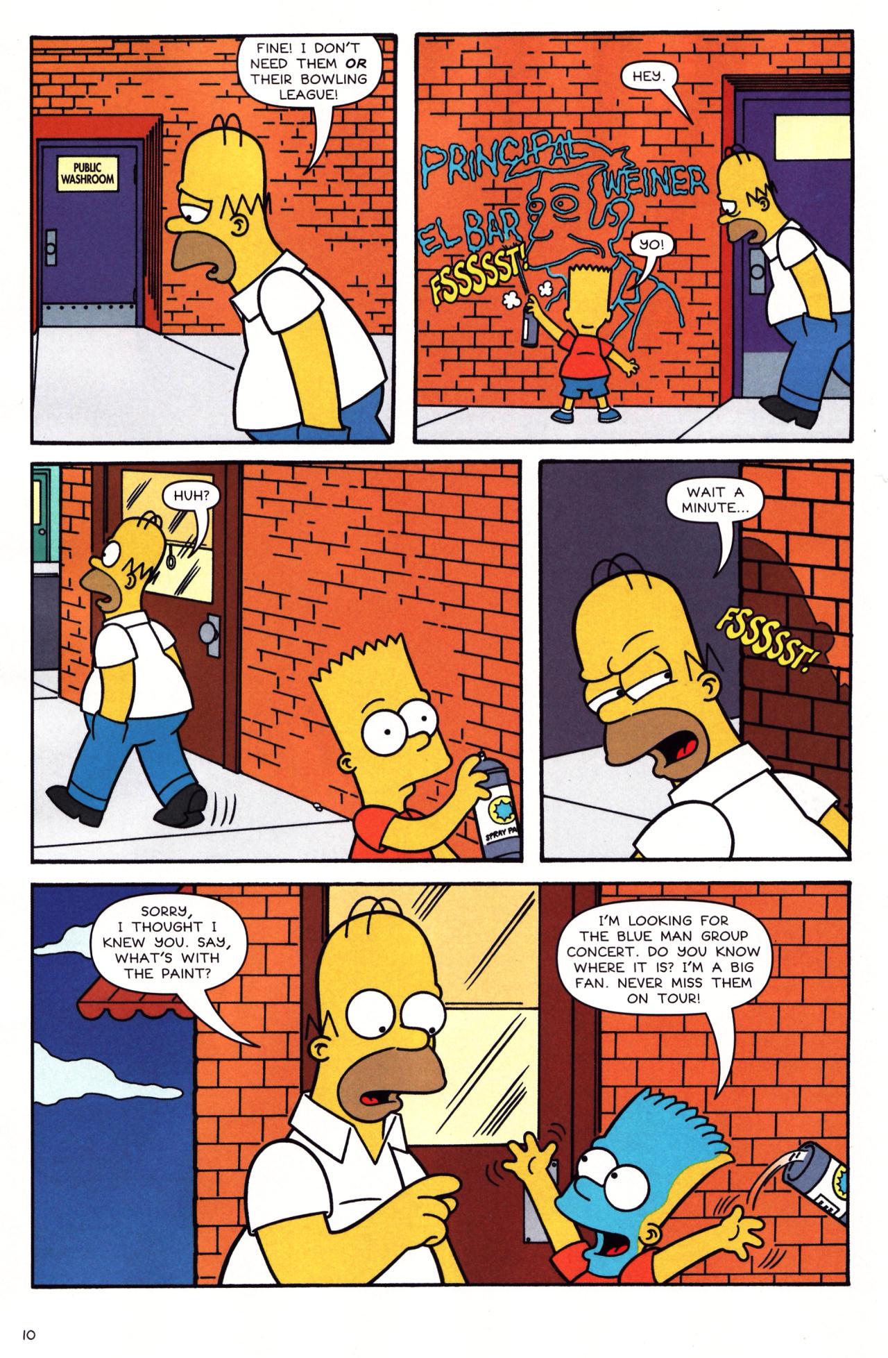 Read online Simpsons Comics comic -  Issue #136 - 8