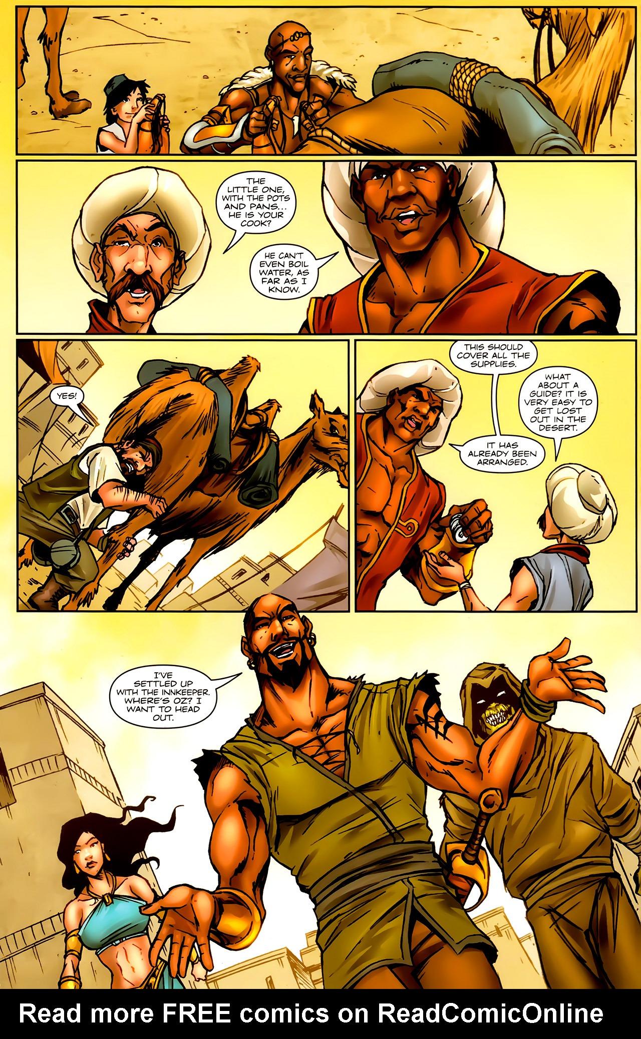 Read online 1001 Arabian Nights: The Adventures of Sinbad comic -  Issue #9 - 4