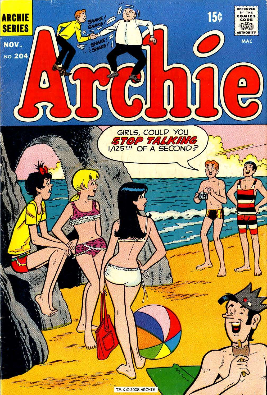 Read online Archie (1960) comic -  Issue #204 - 1