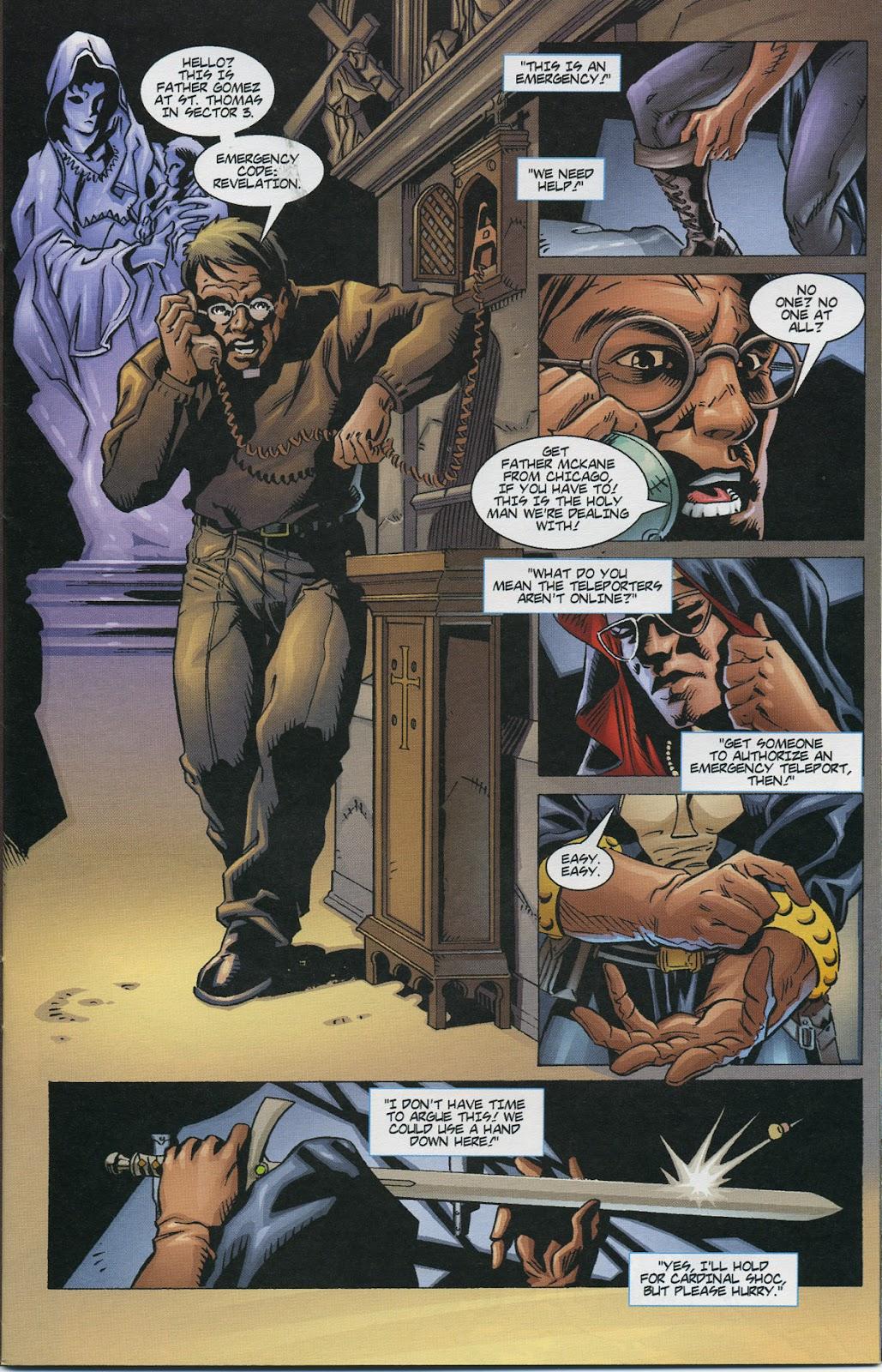 Warrior Nun Areala (1997) Issue #4 #4 - English 9