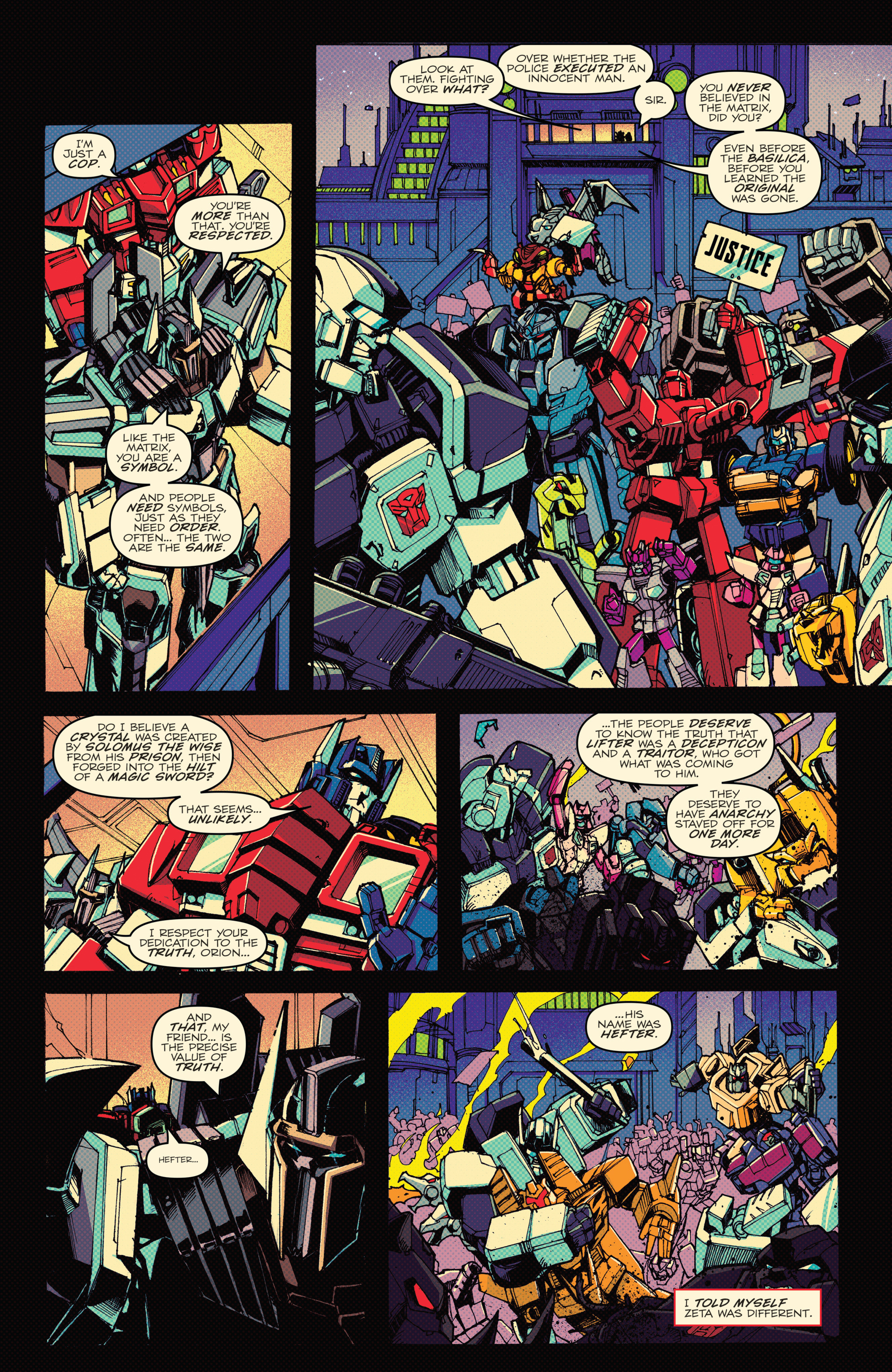 Read online Transformers: Lost Light comic -  Issue #1 - 35