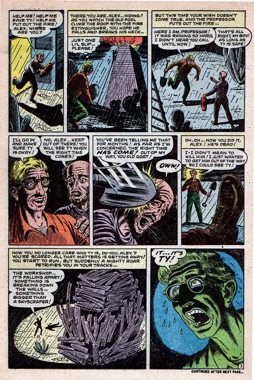 Read online Adventures into Weird Worlds comic -  Issue #30 - 14
