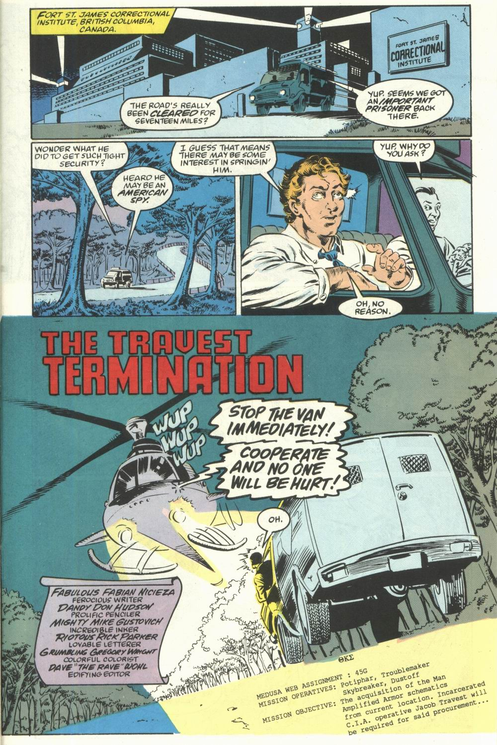 Read online Justice (1986) comic -  Issue #28 - 25