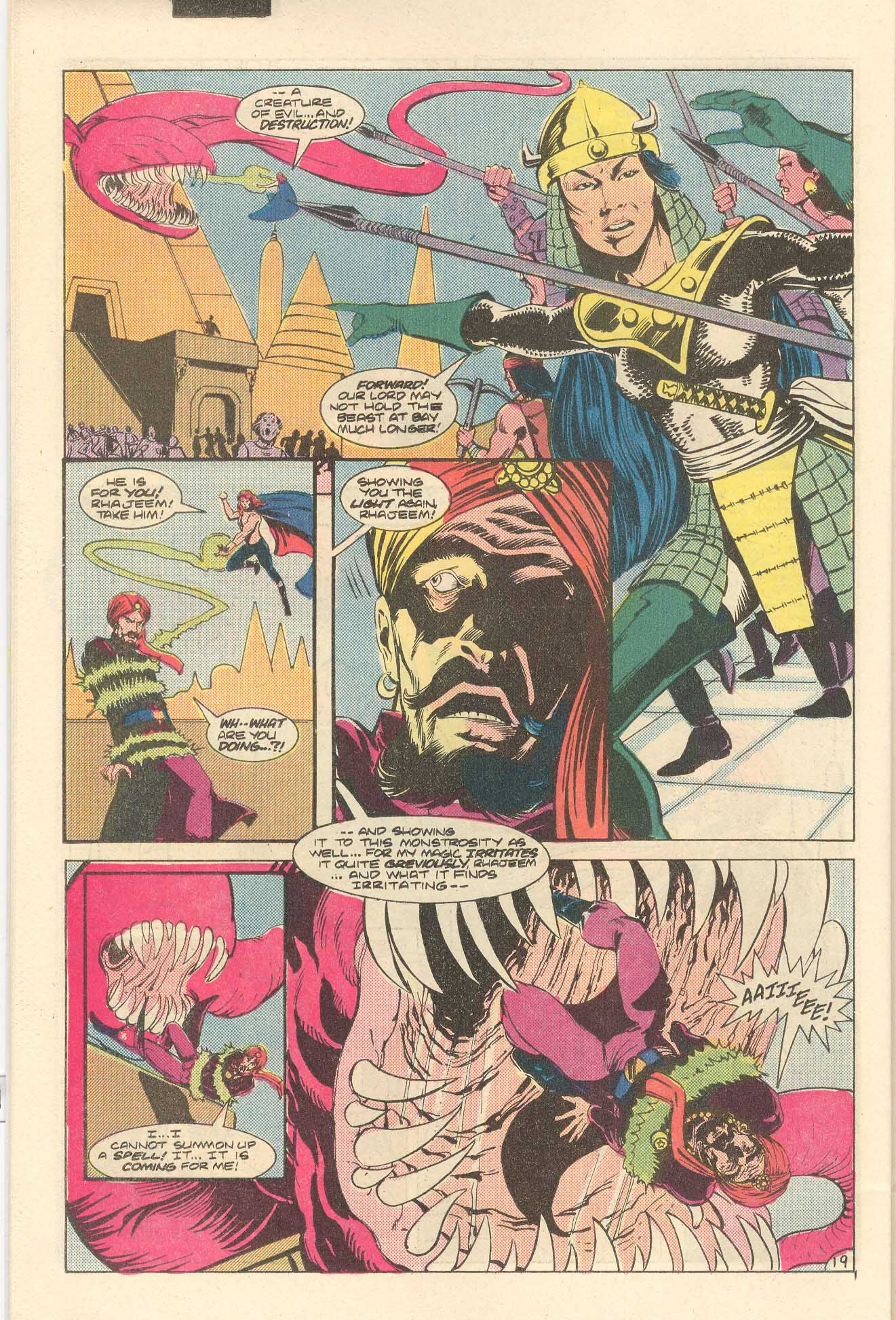Read online Arion, Lord of Atlantis comic -  Issue #35 - 20