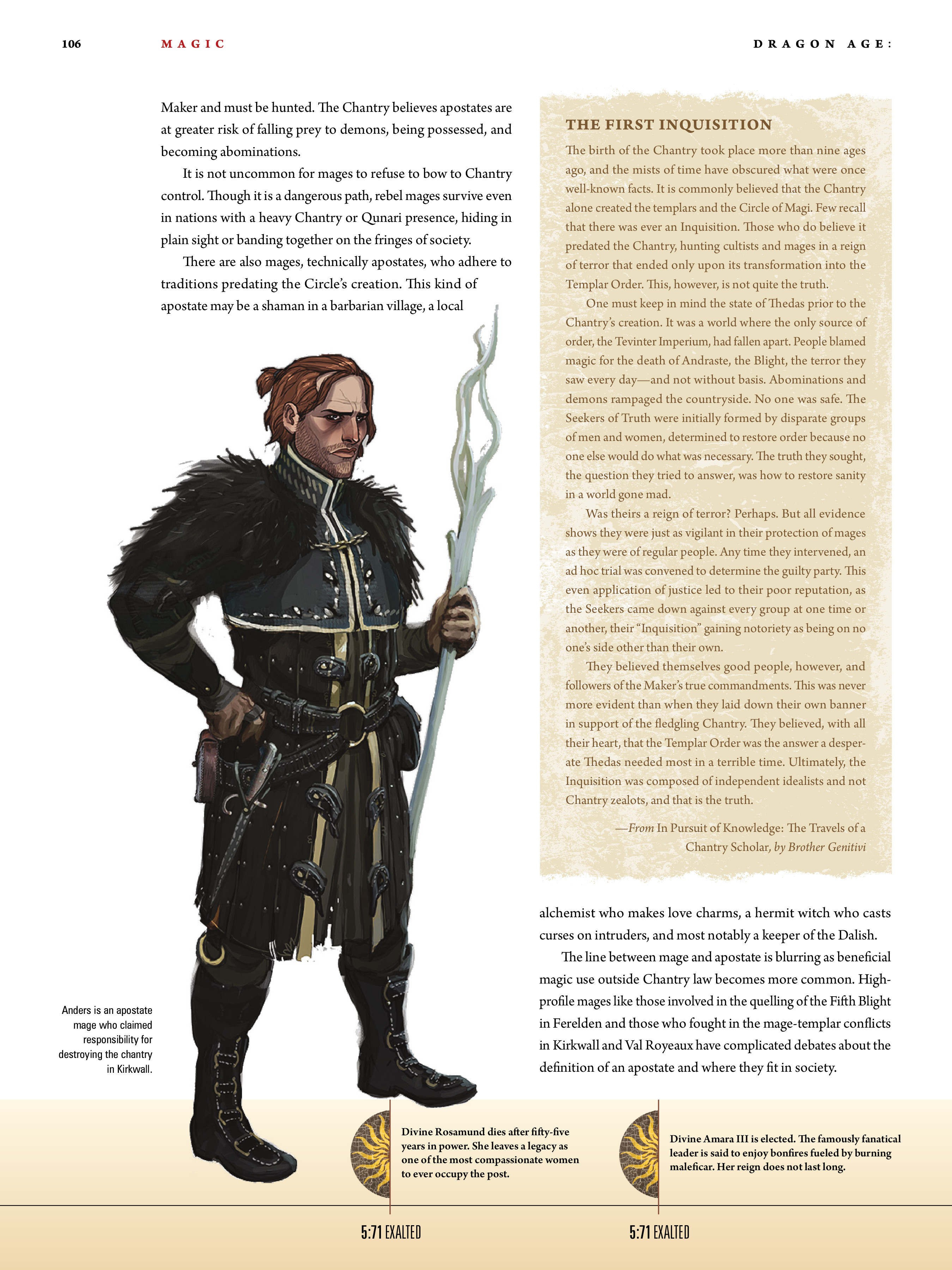Read online Dragon Age: The World of Thedas comic -  Issue # TPB 1 - 86