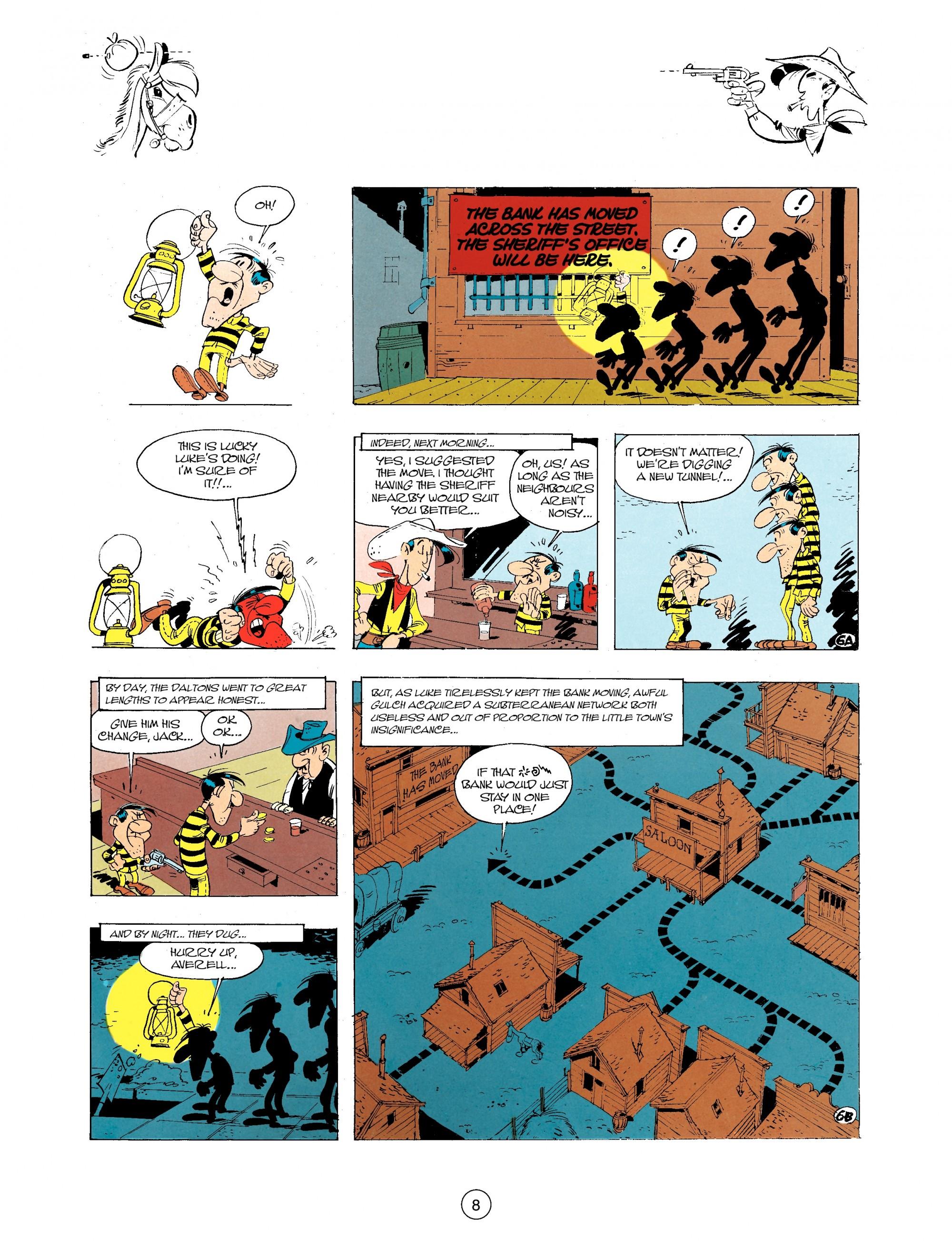 Read online A Lucky Luke Adventure comic -  Issue #34 - 8