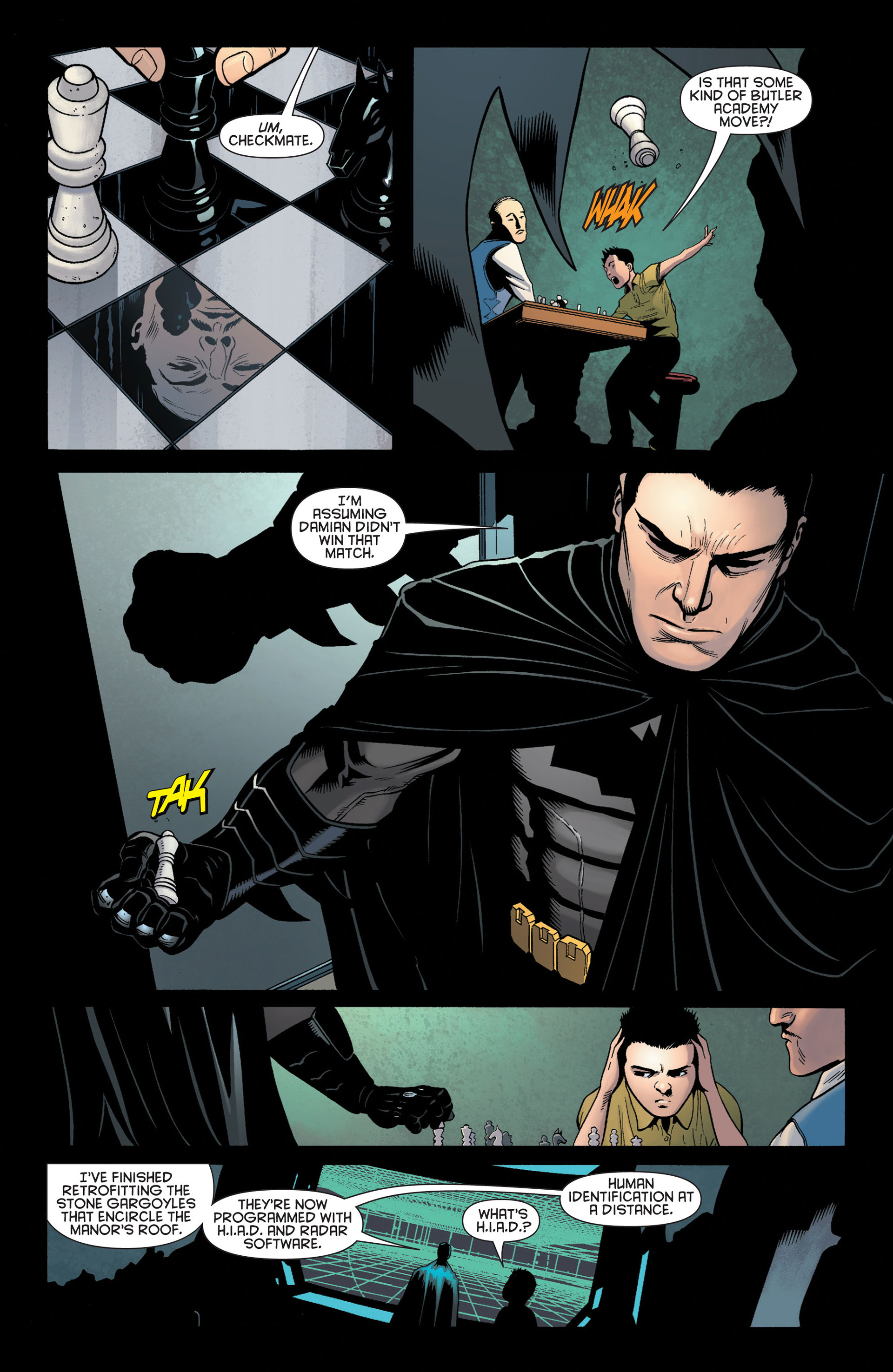 Read online Batman and Robin (2011) comic -  Issue #3 - 5