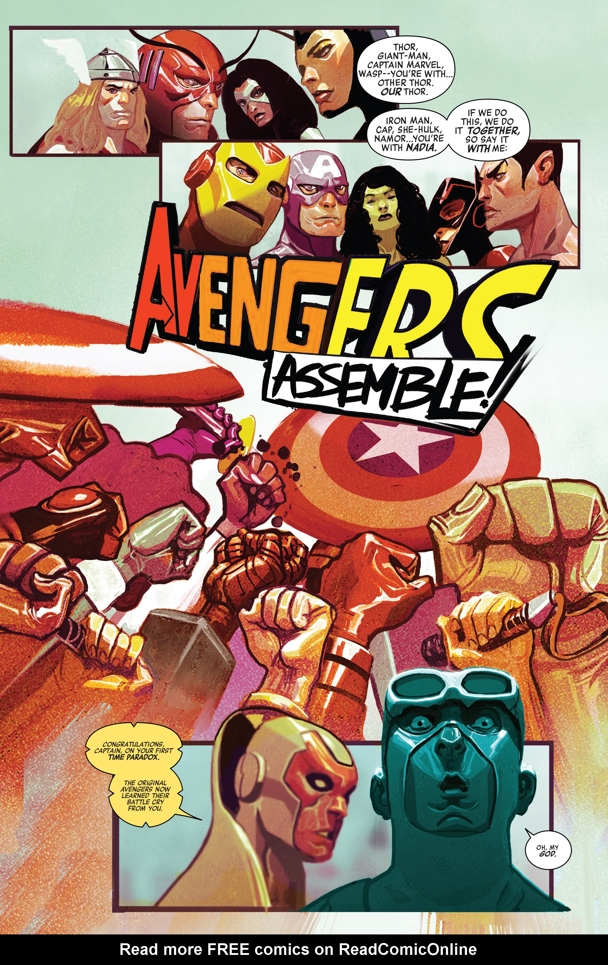 Read online Avengers (2016) comic -  Issue #5 - 11
