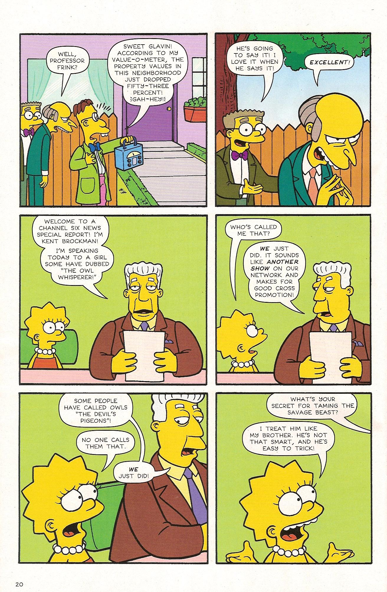 Read online Simpsons Comics comic -  Issue #174 - 22