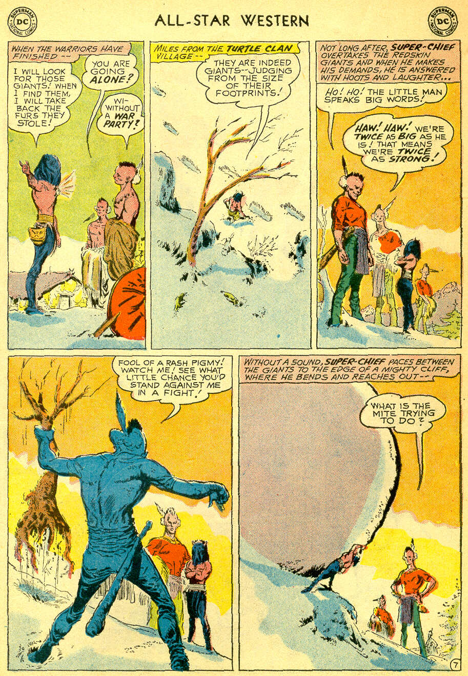 Read online All-Star Western (1951) comic -  Issue #118 - 27