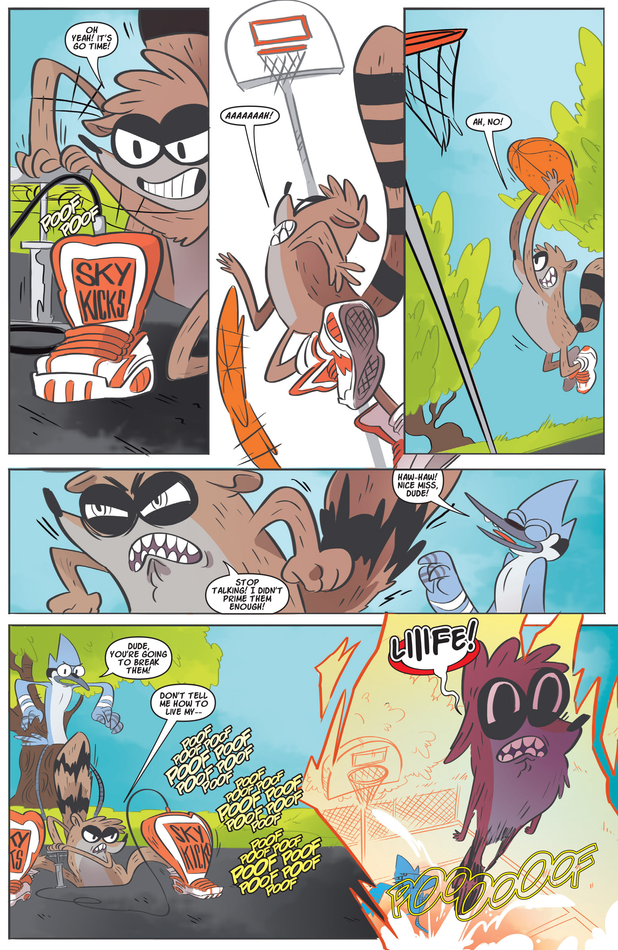 Read online Regular Show comic -  Issue # _Annual 1 - 4