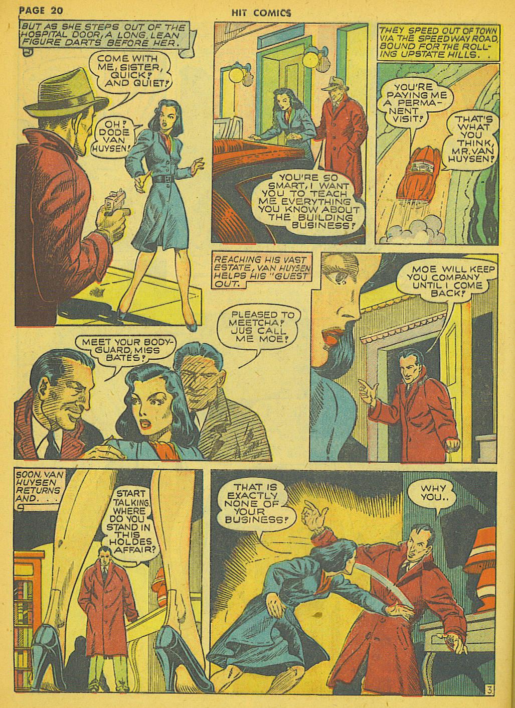 Read online Hit Comics comic -  Issue #21 - 22
