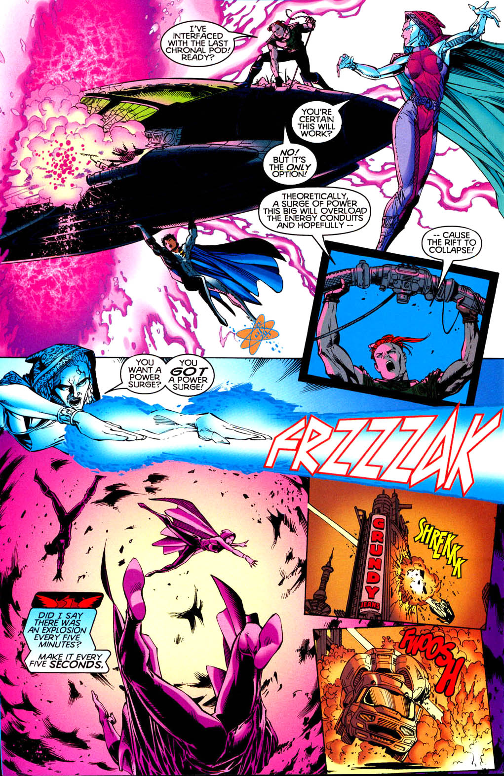Read online Tangent Comics/ Doom Patrol comic -  Issue # Full - 37
