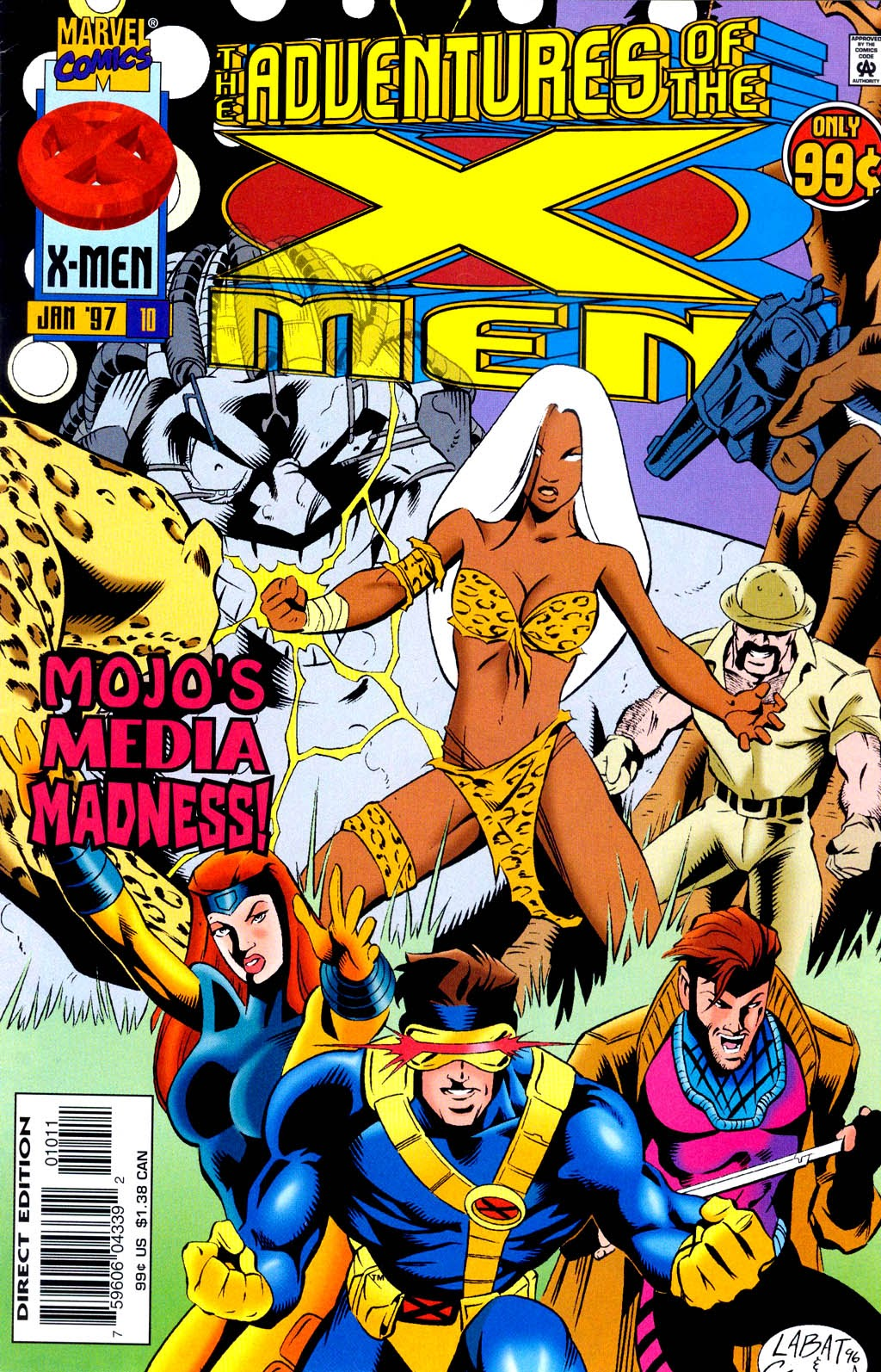 The Adventures of the X-Men issue 10 - Page 1