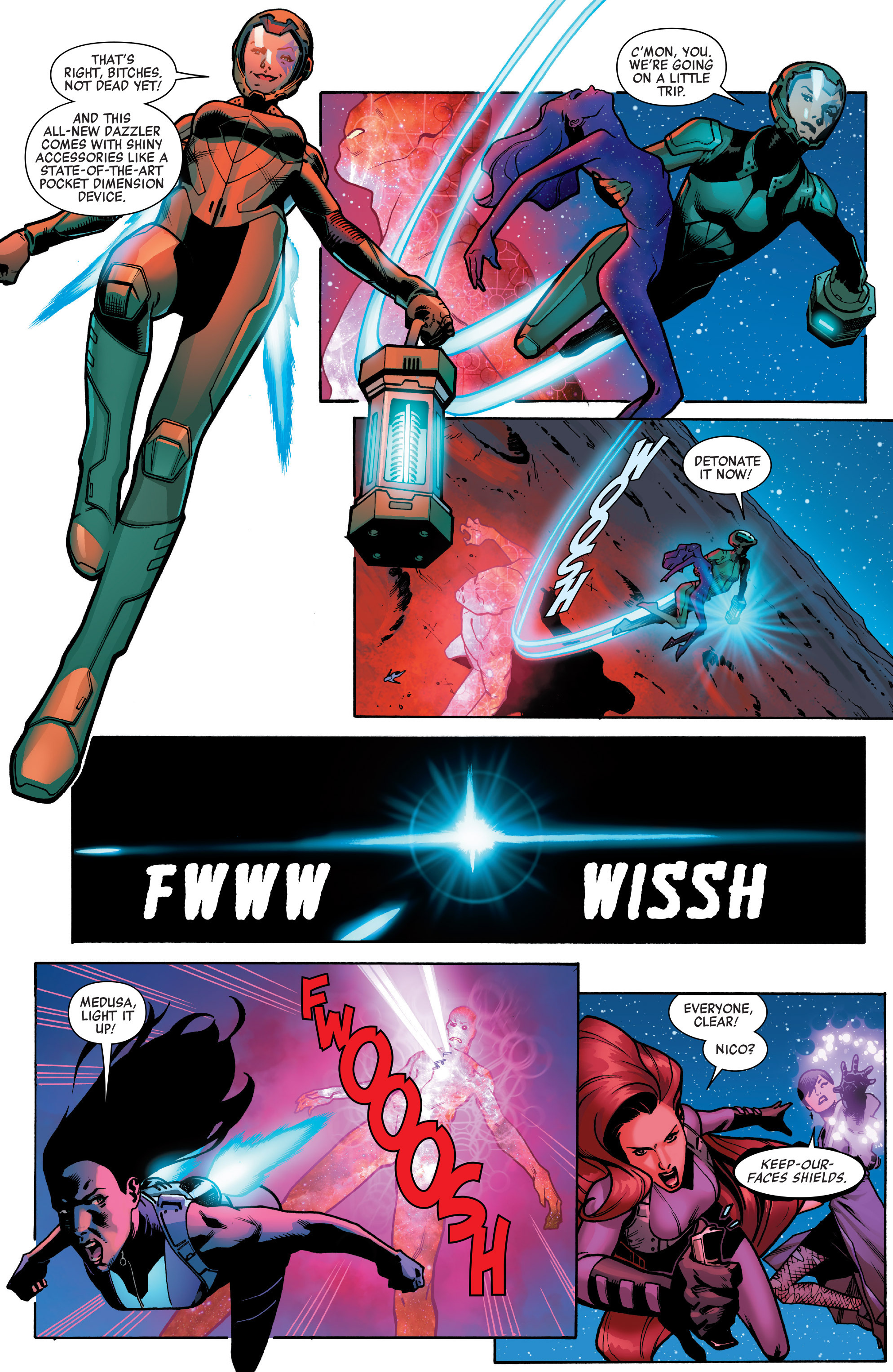 Read online A-Force (2016) comic -  Issue #4 - 11
