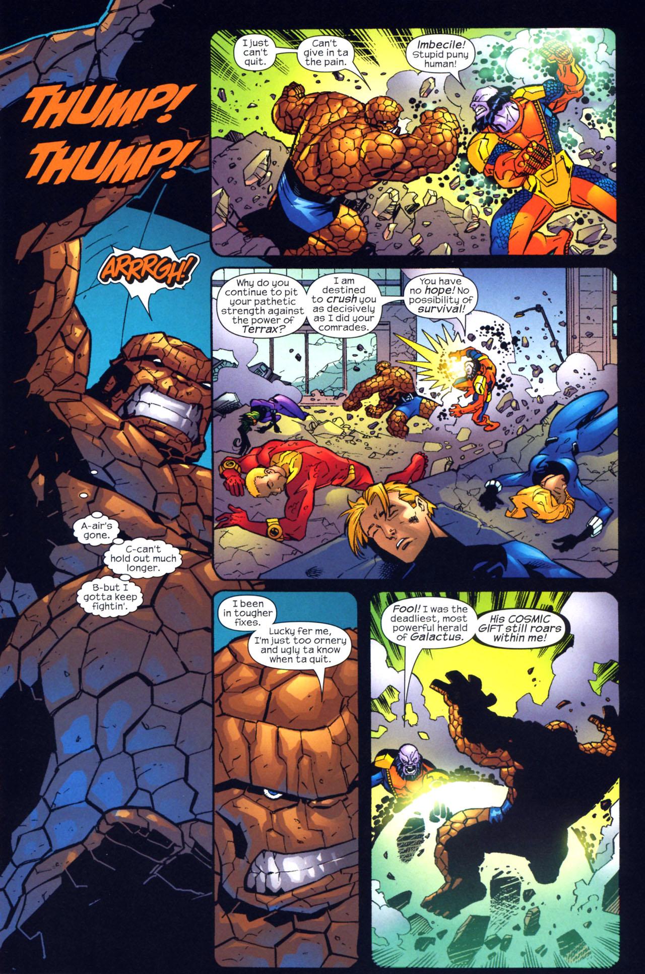 Read online Fantastic Five (2007) comic -  Issue #2 - 16