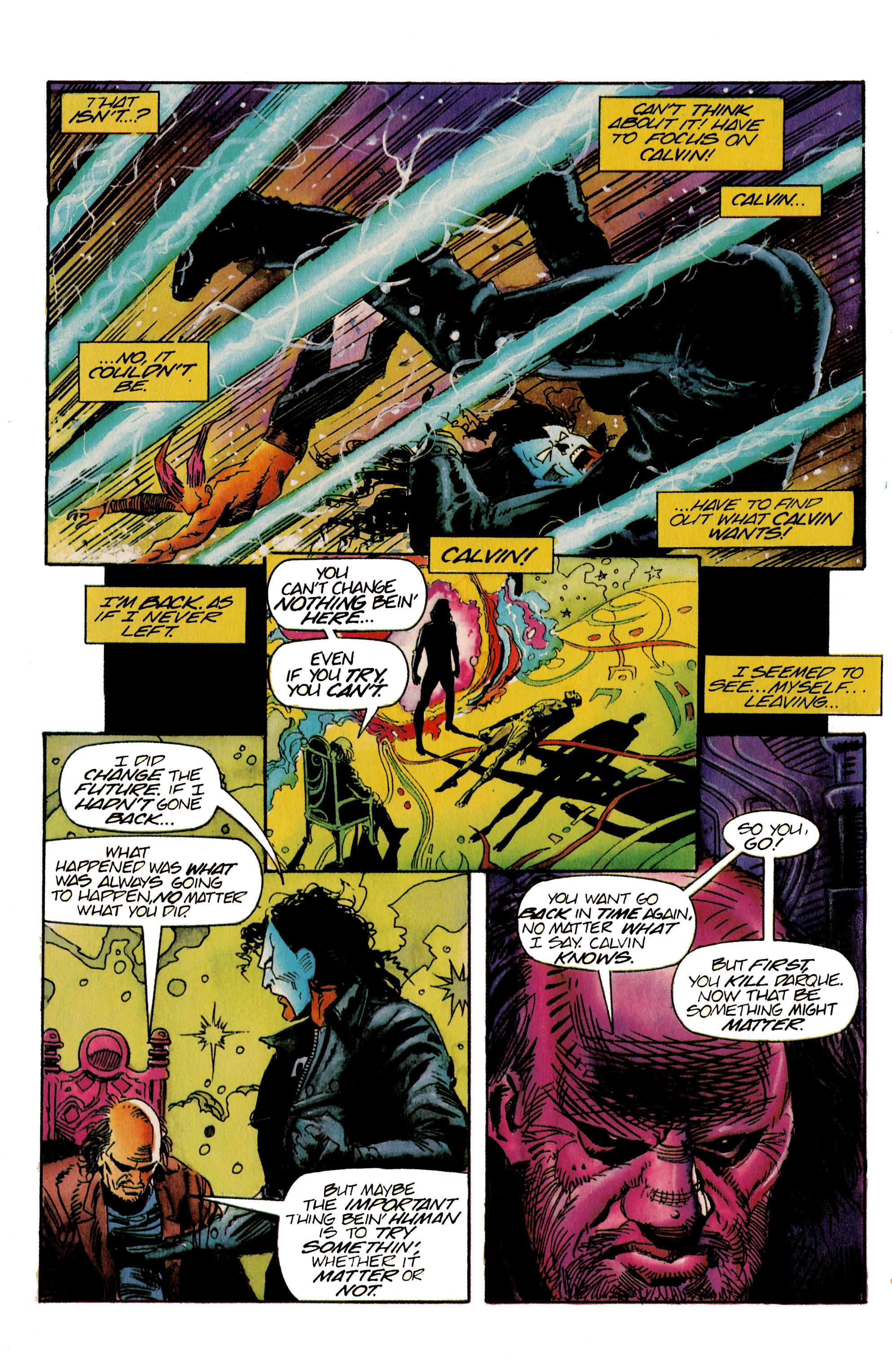 Read online Shadowman (1992) comic -  Issue #22 - 17