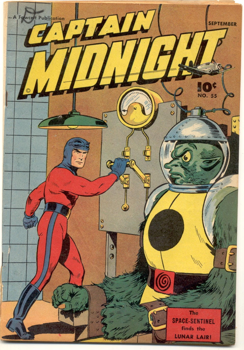 Captain Midnight (1942) 55 Page 1