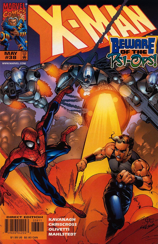 X-Man 38 Page 1