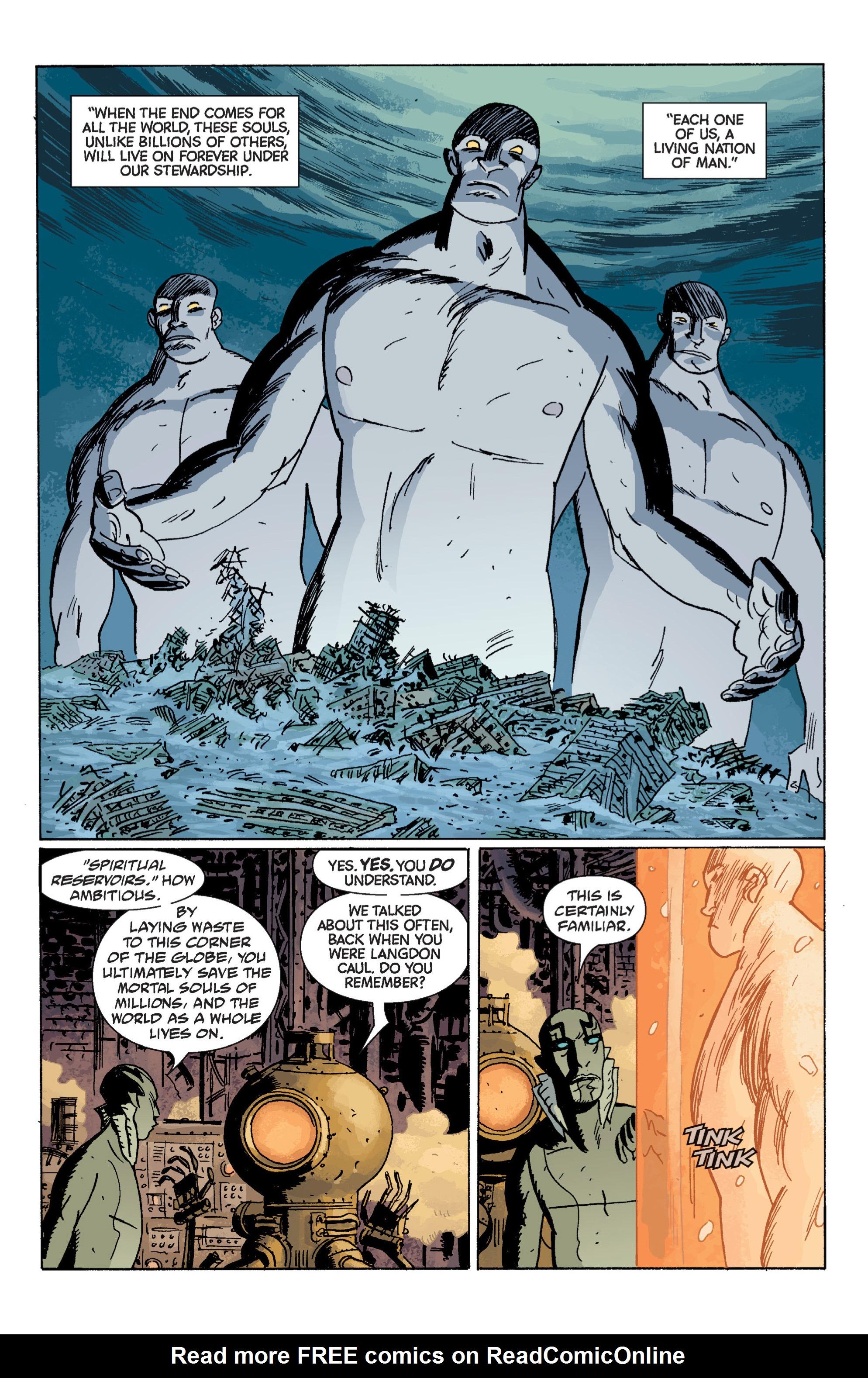 Read online B.P.R.D. (2003) comic -  Issue # TPB 7 - 101