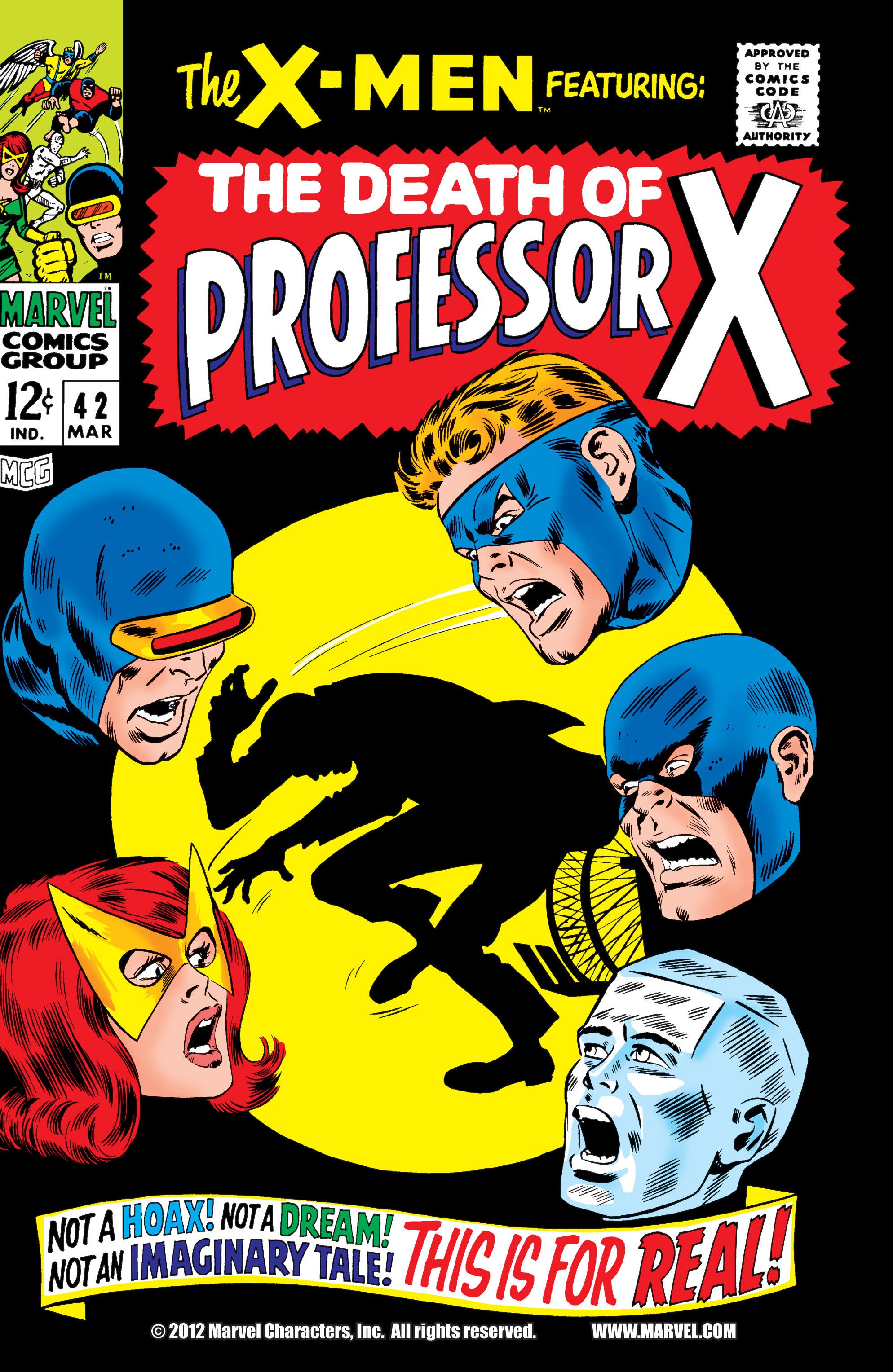 Uncanny X-Men (1963) 42 Page 1