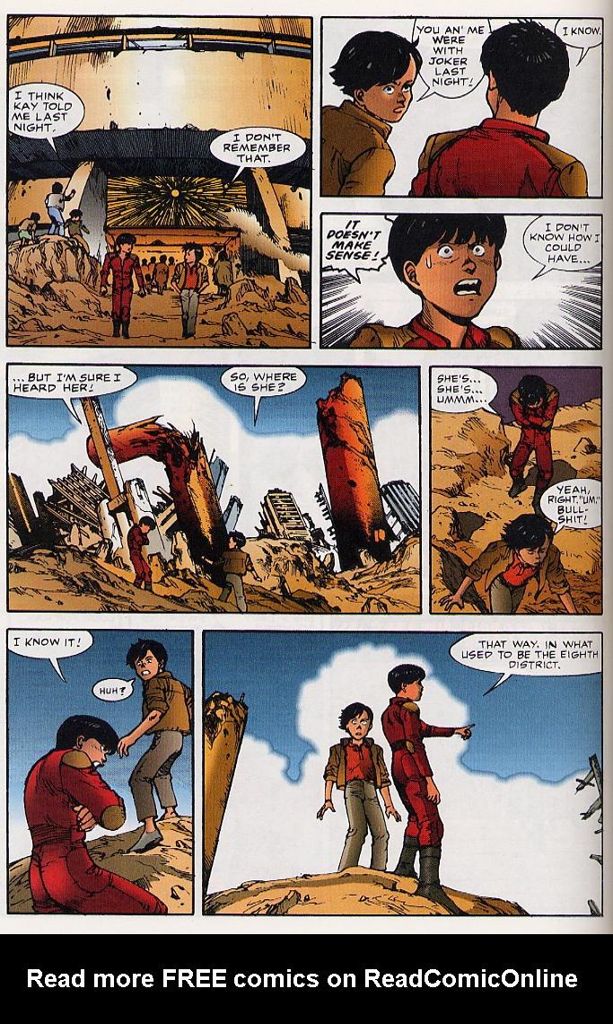 Read online Akira comic -  Issue #25 - 23