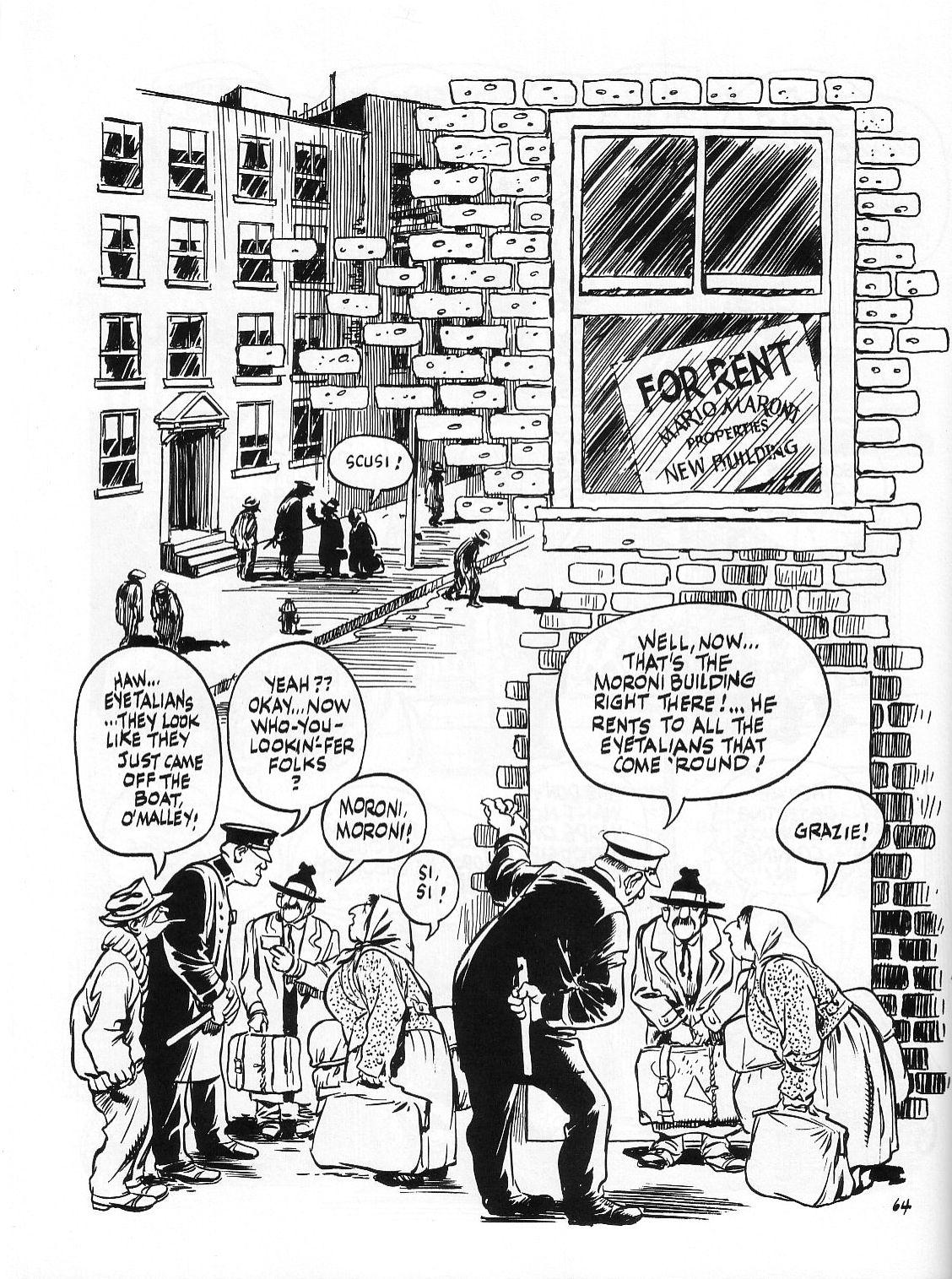 Read online Dropsie Avenue, The Neighborhood comic -  Issue # Full - 66