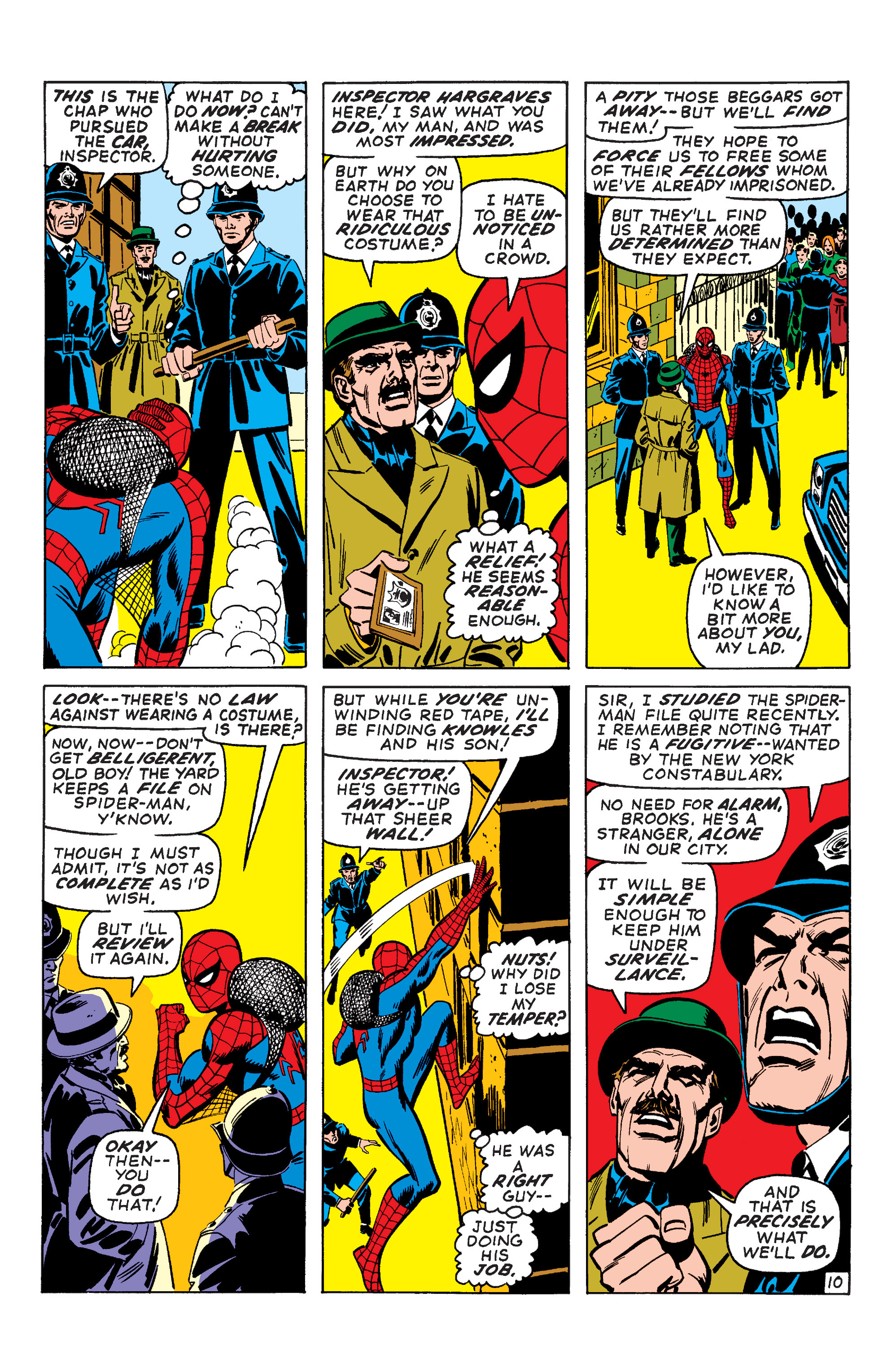 The Amazing Spider-Man (1963) 95 Page 10