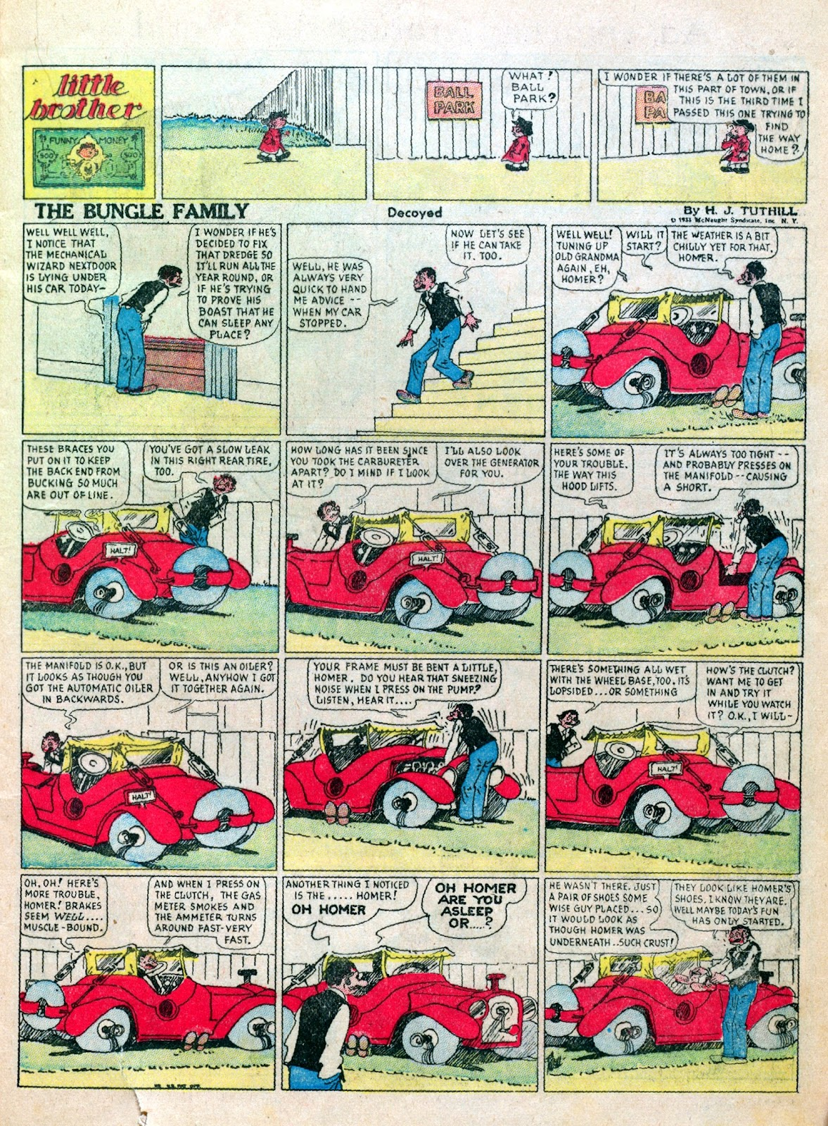 Read online Famous Funnies comic -  Issue #6 - 25