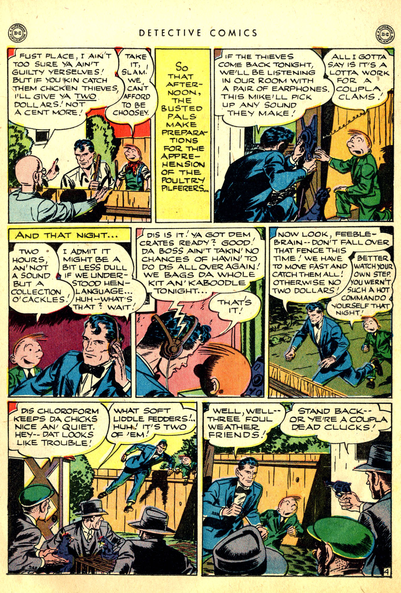 Read online Detective Comics (1937) comic -  Issue #91 - 21