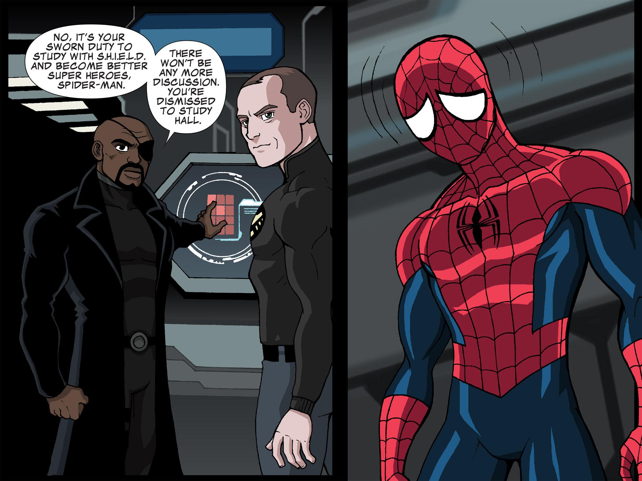 Read online Ultimate Spider-Man (Infinite Comics) (2015) comic -  Issue #21 - 7