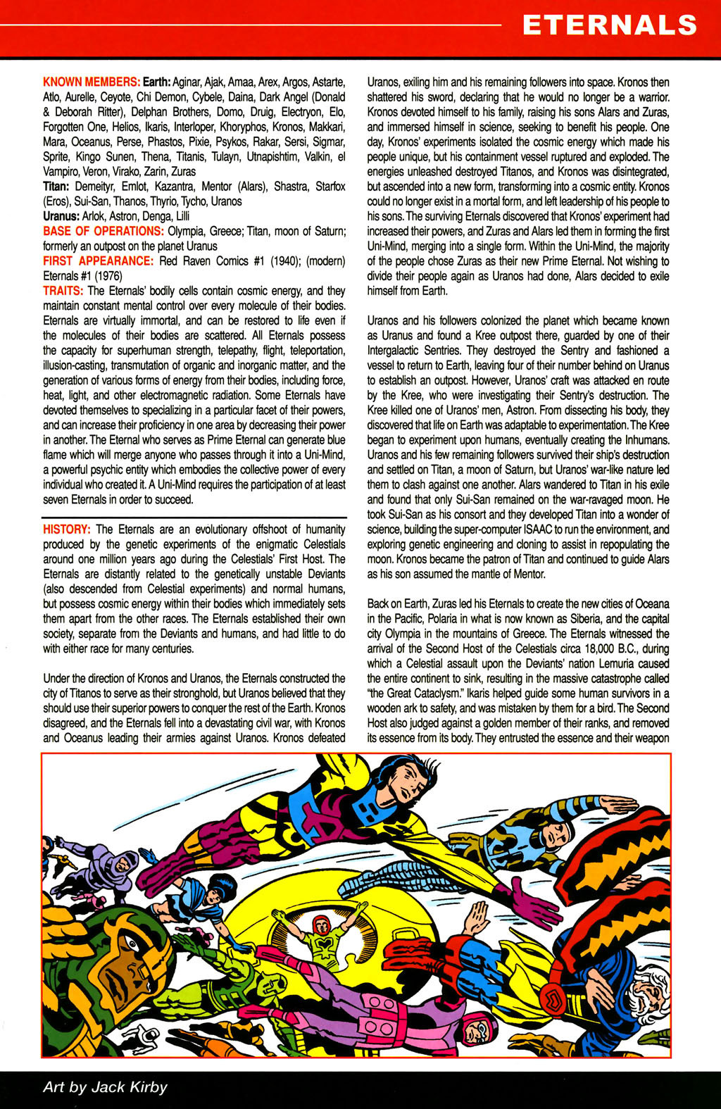 Read online All-New Official Handbook of the Marvel Universe A to Z comic -  Issue #4 - 17