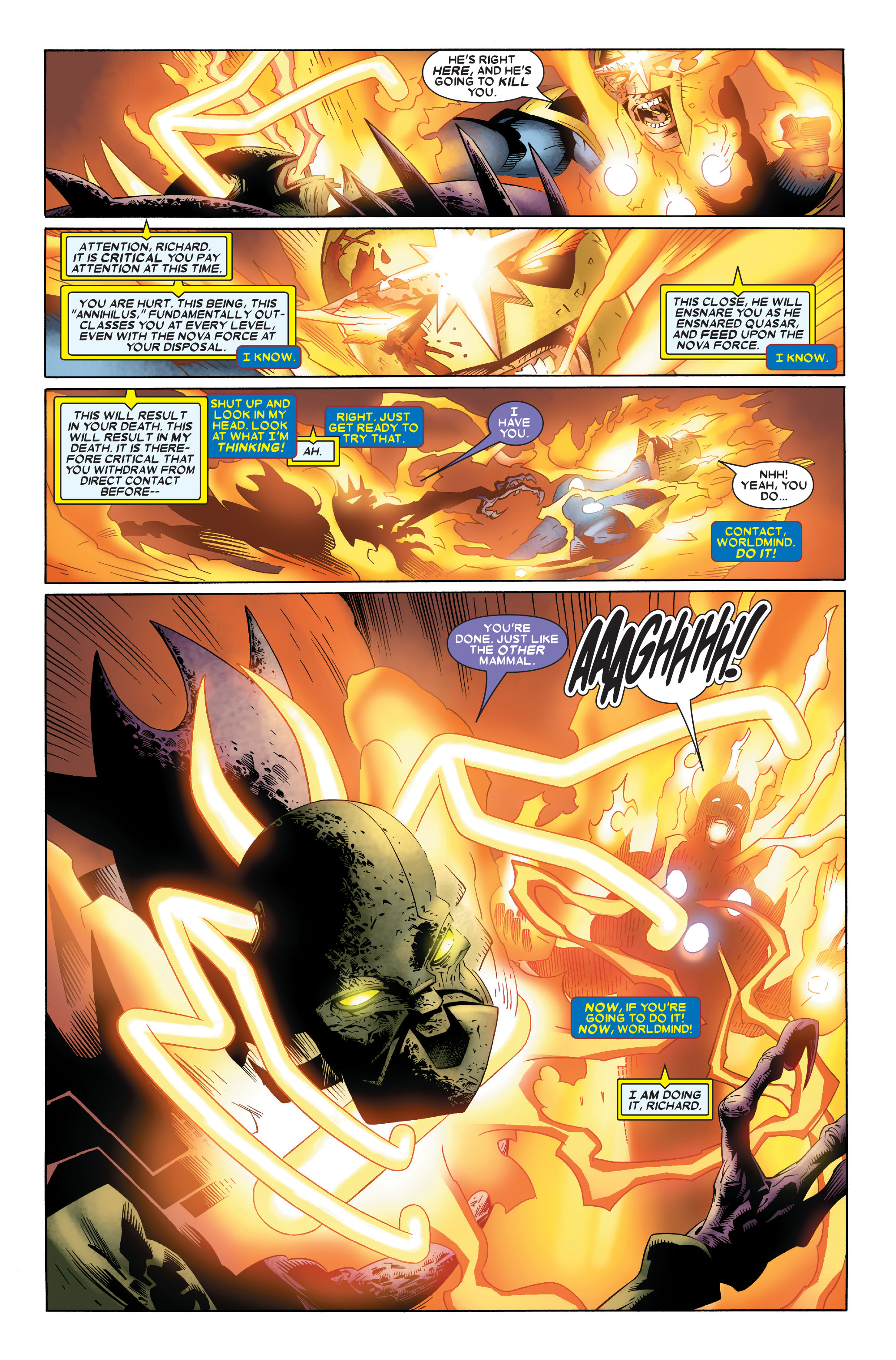 Read online Annihilation: Nova comic -  Issue #4 - 22