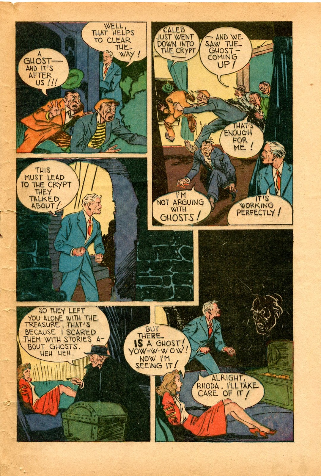Read online Super-Magician Comics comic -  Issue #33 - 45