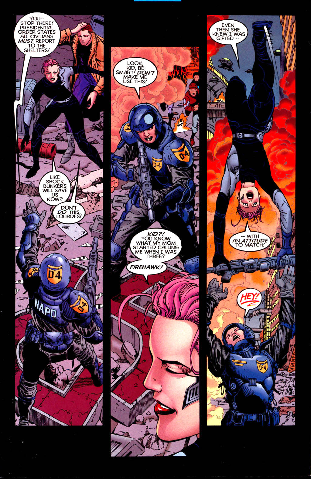 Read online Tangent Comics/ Doom Patrol comic -  Issue # Full - 3