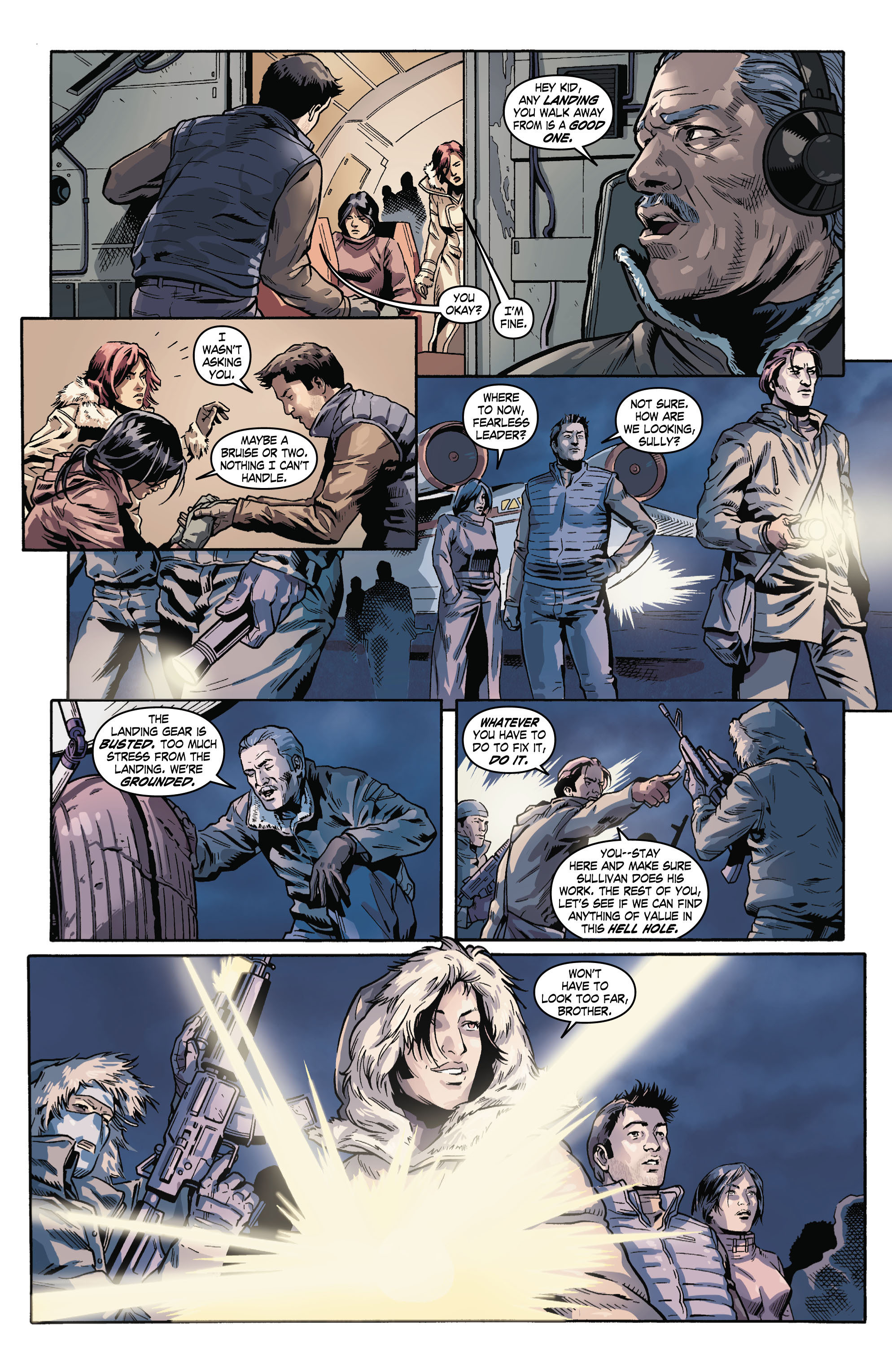 Read online Uncharted comic -  Issue #3 - 19