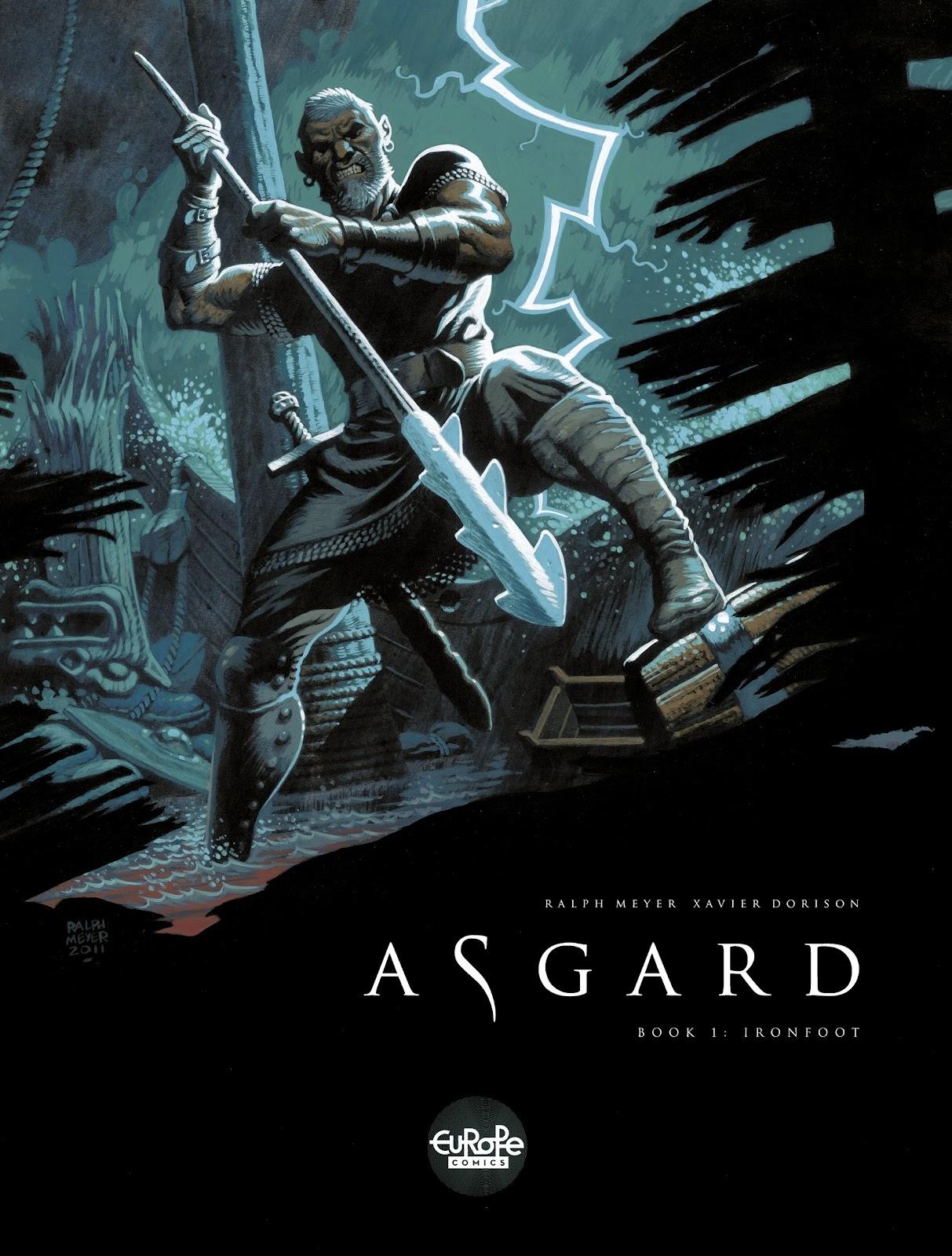 Read online Asgard comic -  Issue #1 - 1