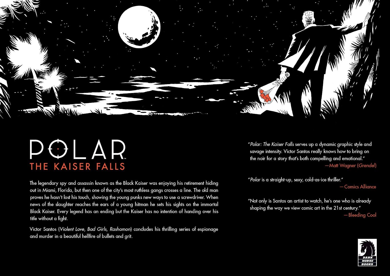 Read online Polar comic -  Issue # TPB The Kaiser Falls (Part 2) - 69