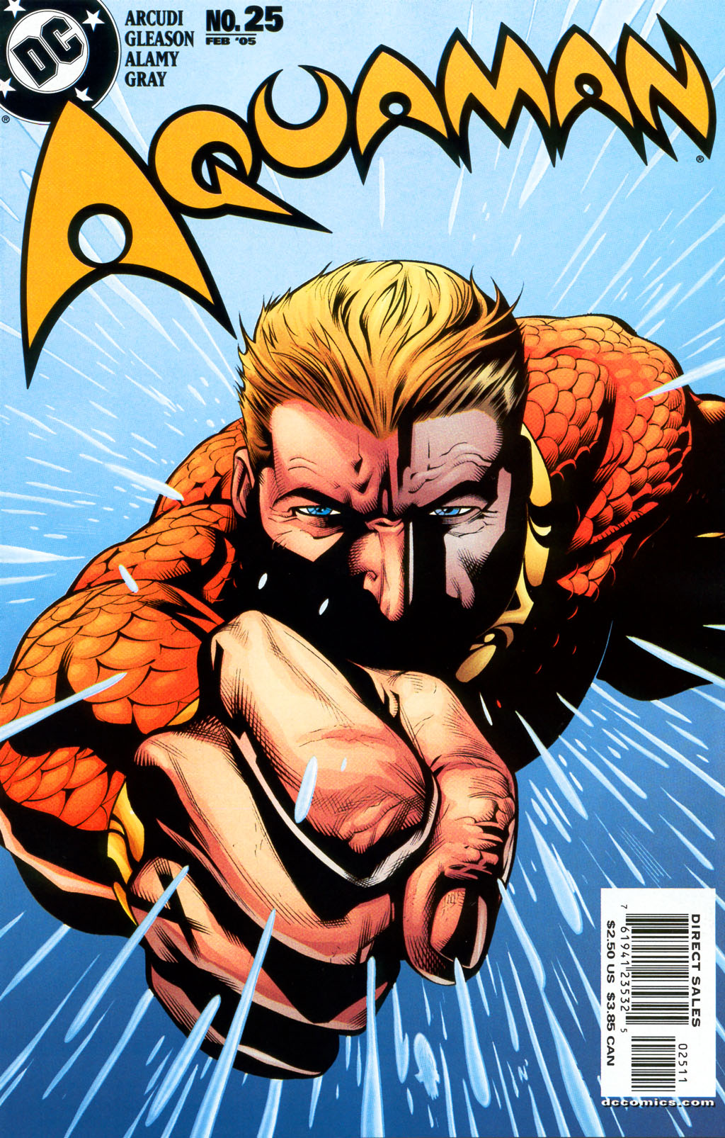 Read online Aquaman (2003) comic -  Issue #25 - 1