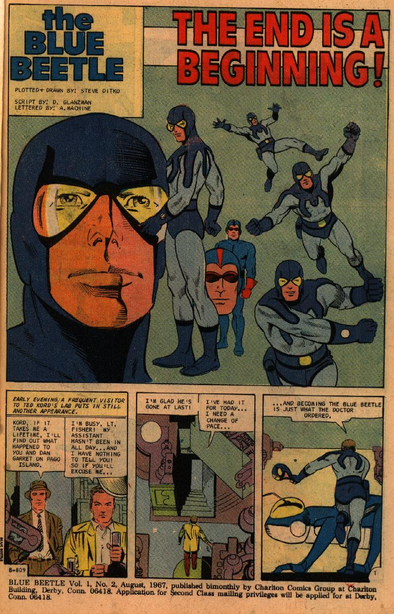 Blue Beetle (1967) issue 2 - Page 3