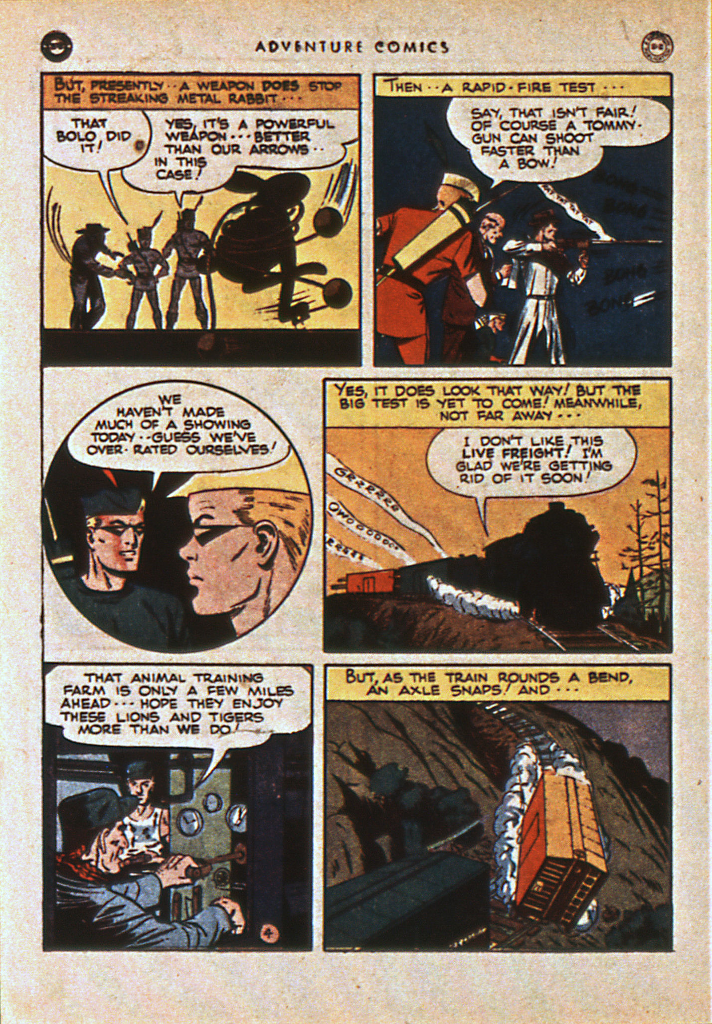 Read online Adventure Comics (1938) comic -  Issue #108 - 47