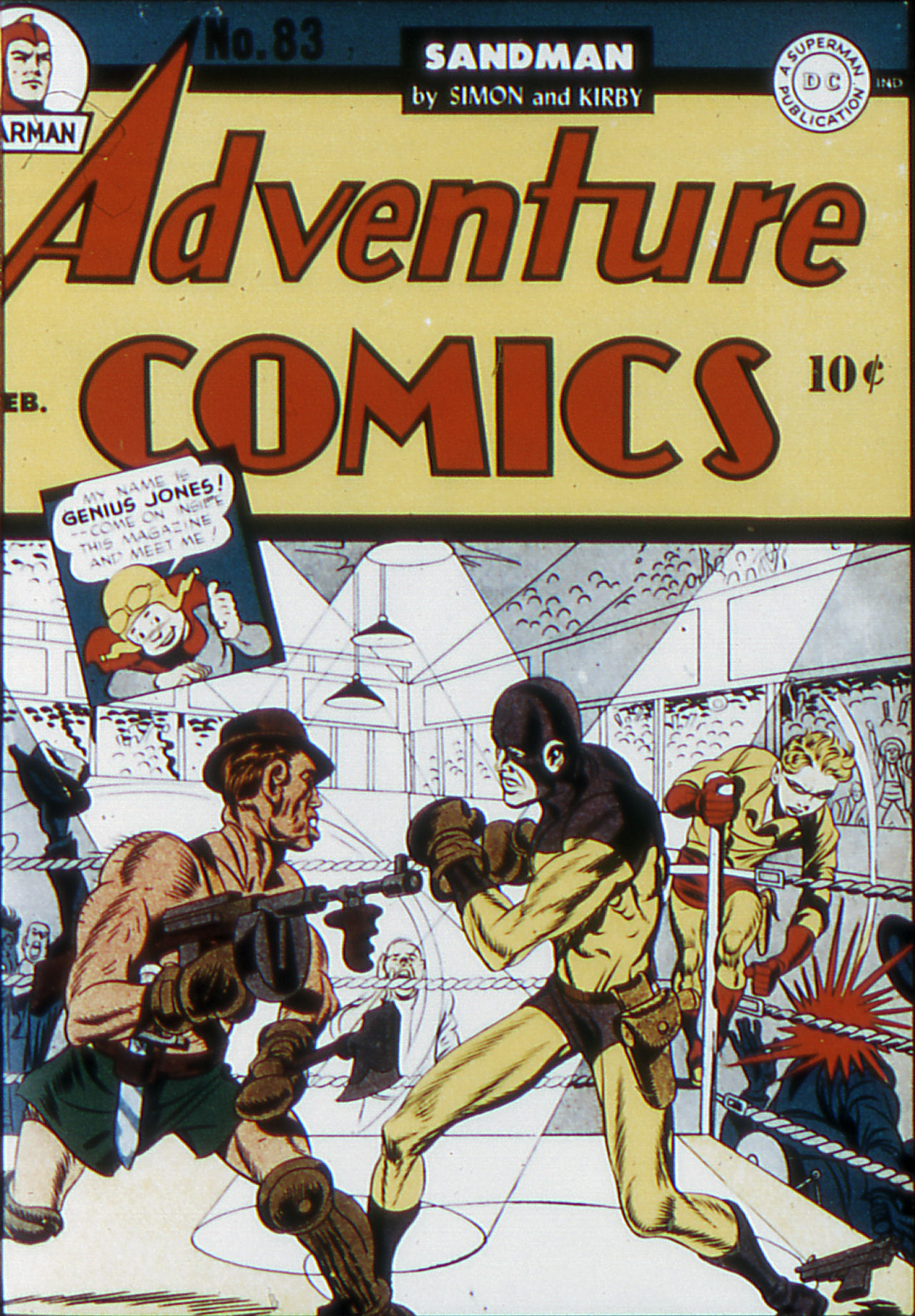 Read online Adventure Comics (1938) comic -  Issue #83 - 1