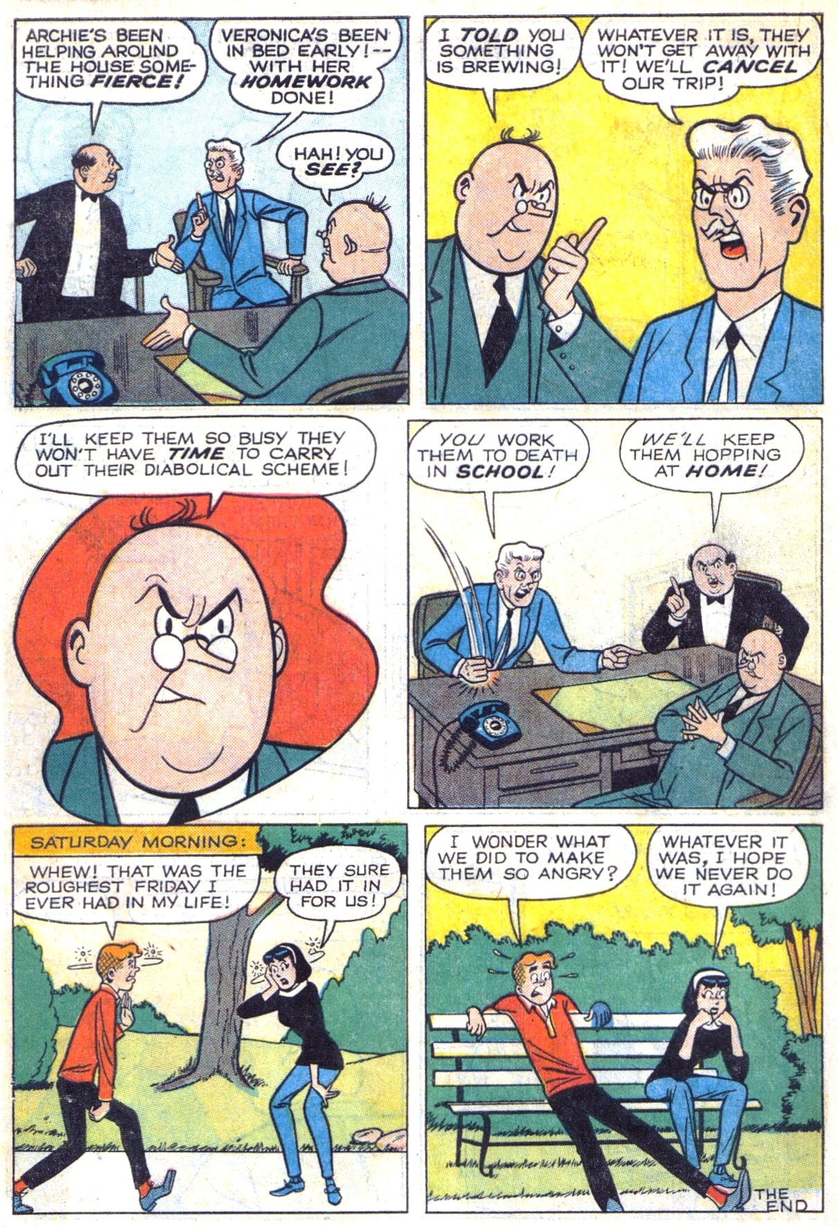 Read online Archie (1960) comic -  Issue #153 - 18