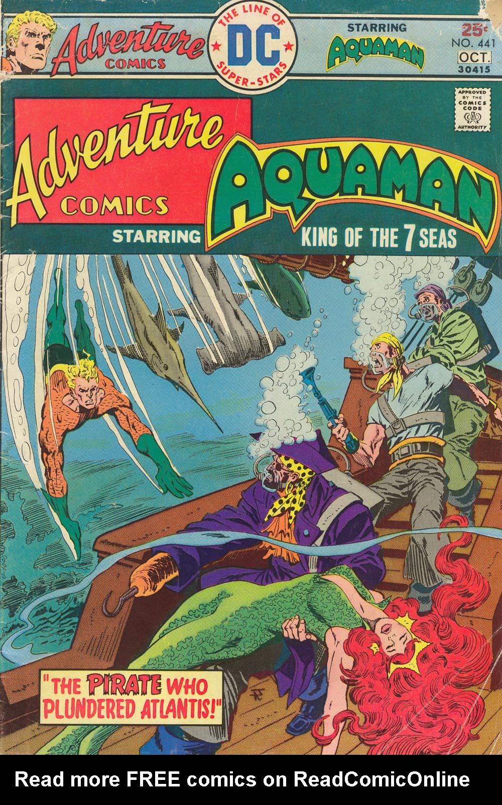 Read online Adventure Comics (1938) comic -  Issue #441 - 1