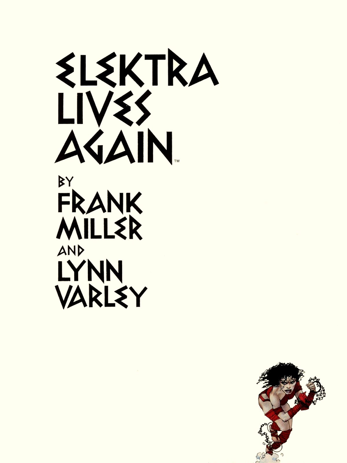 Elektra Lives Again issue Full - Page 6