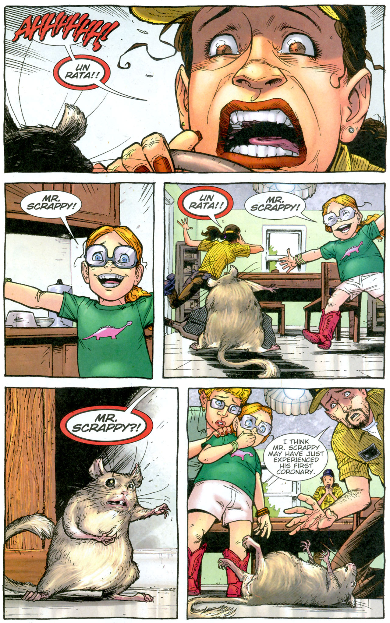 Read online The Exterminators comic -  Issue #14 - 18