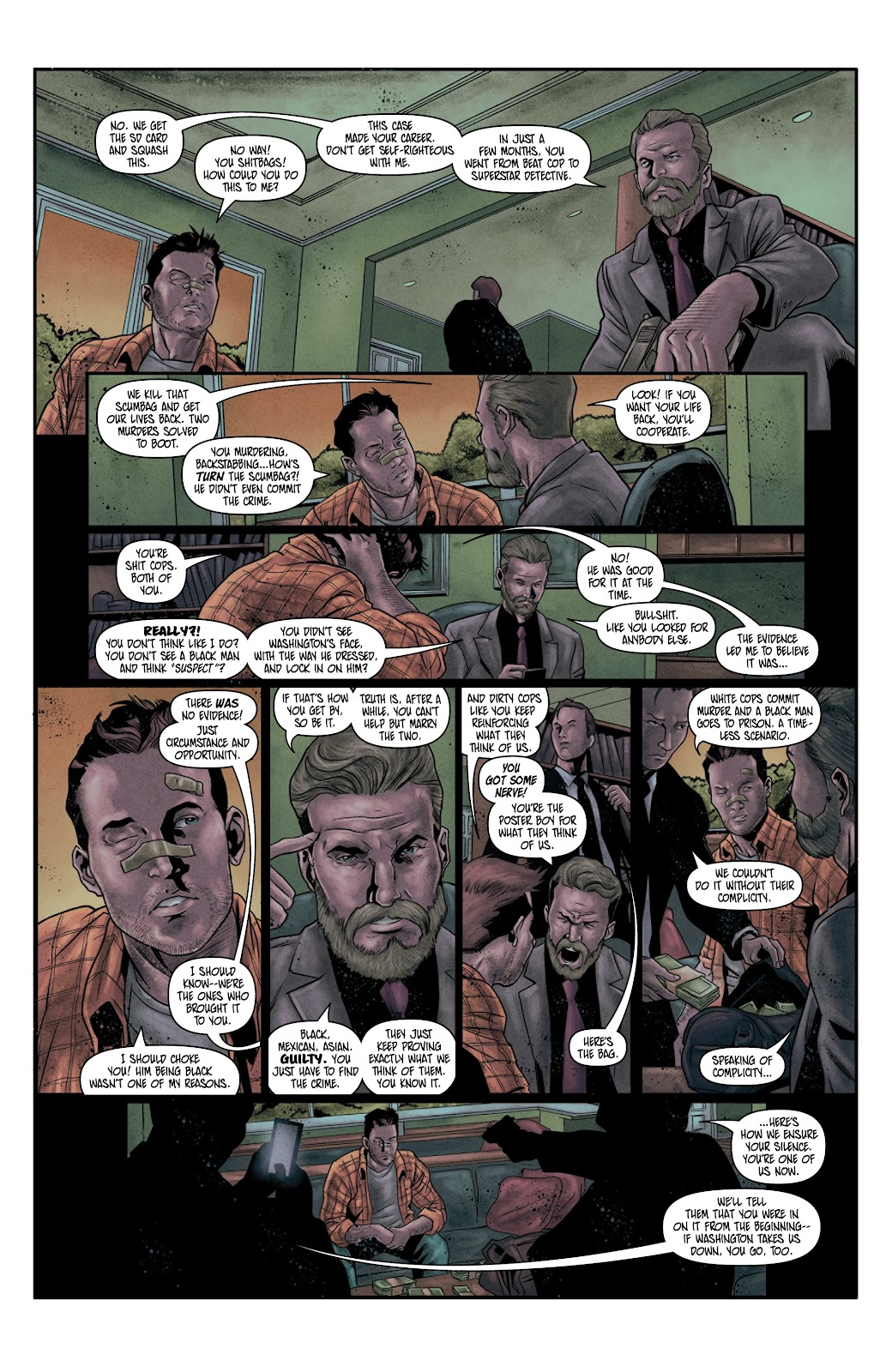 Read online Vindication comic -  Issue #4 - 16